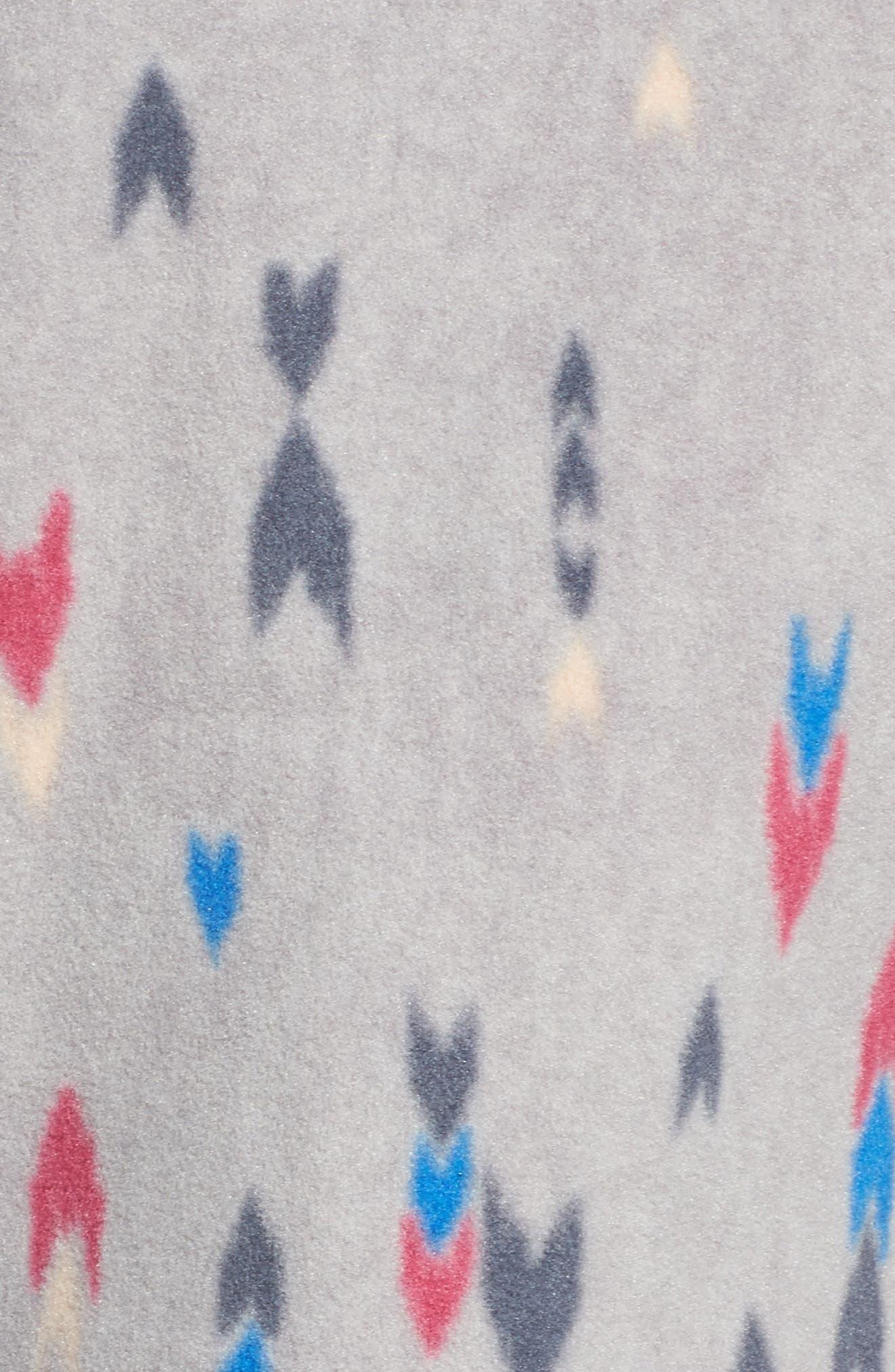 Snap-T<sup>®</sup> Fleece Vest,                             Alternate thumbnail 6, color,                             Wish Tails Big/ Craft Pink
