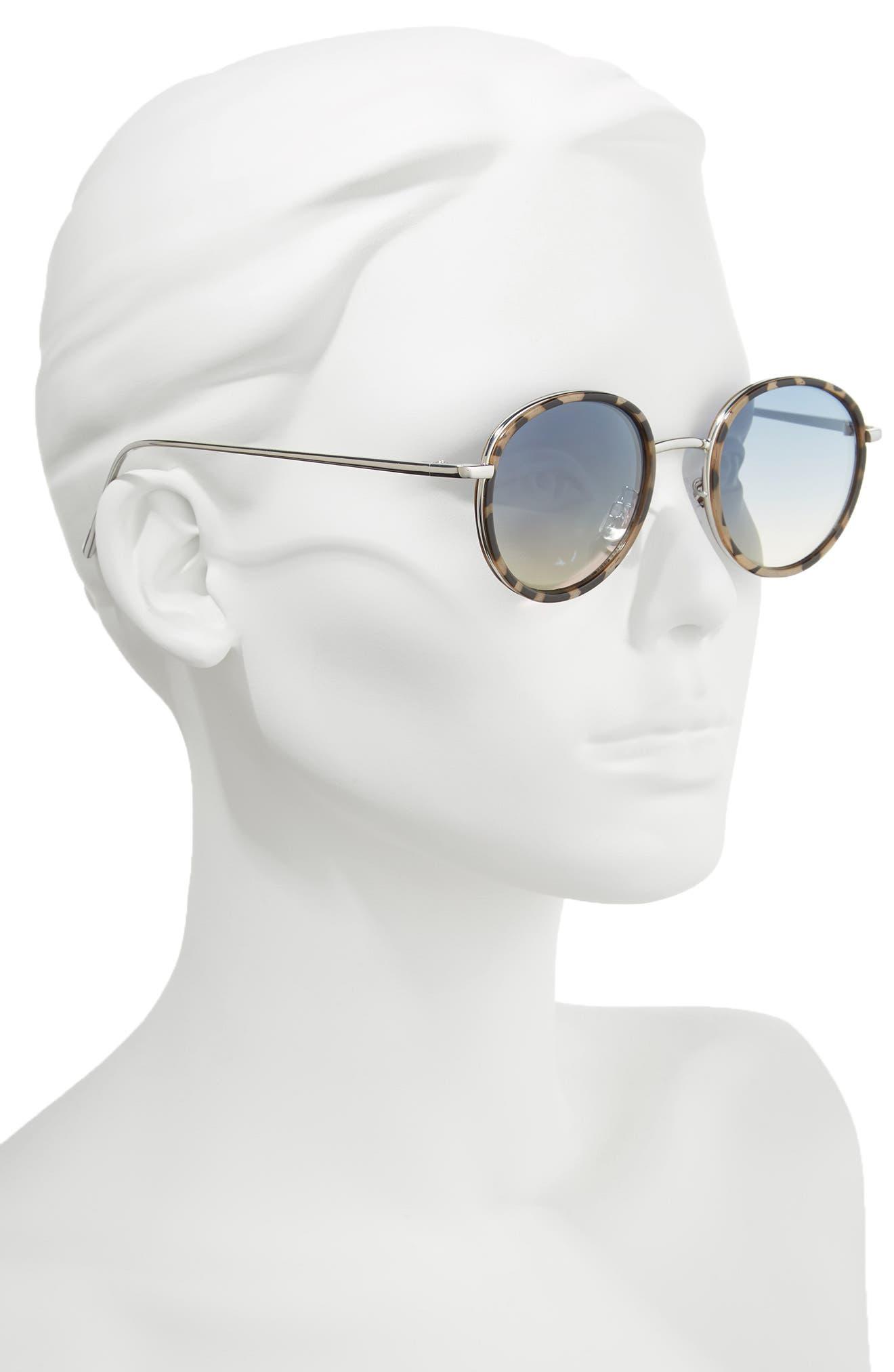 Alternate Image 2  - BP. Round Sunglasses