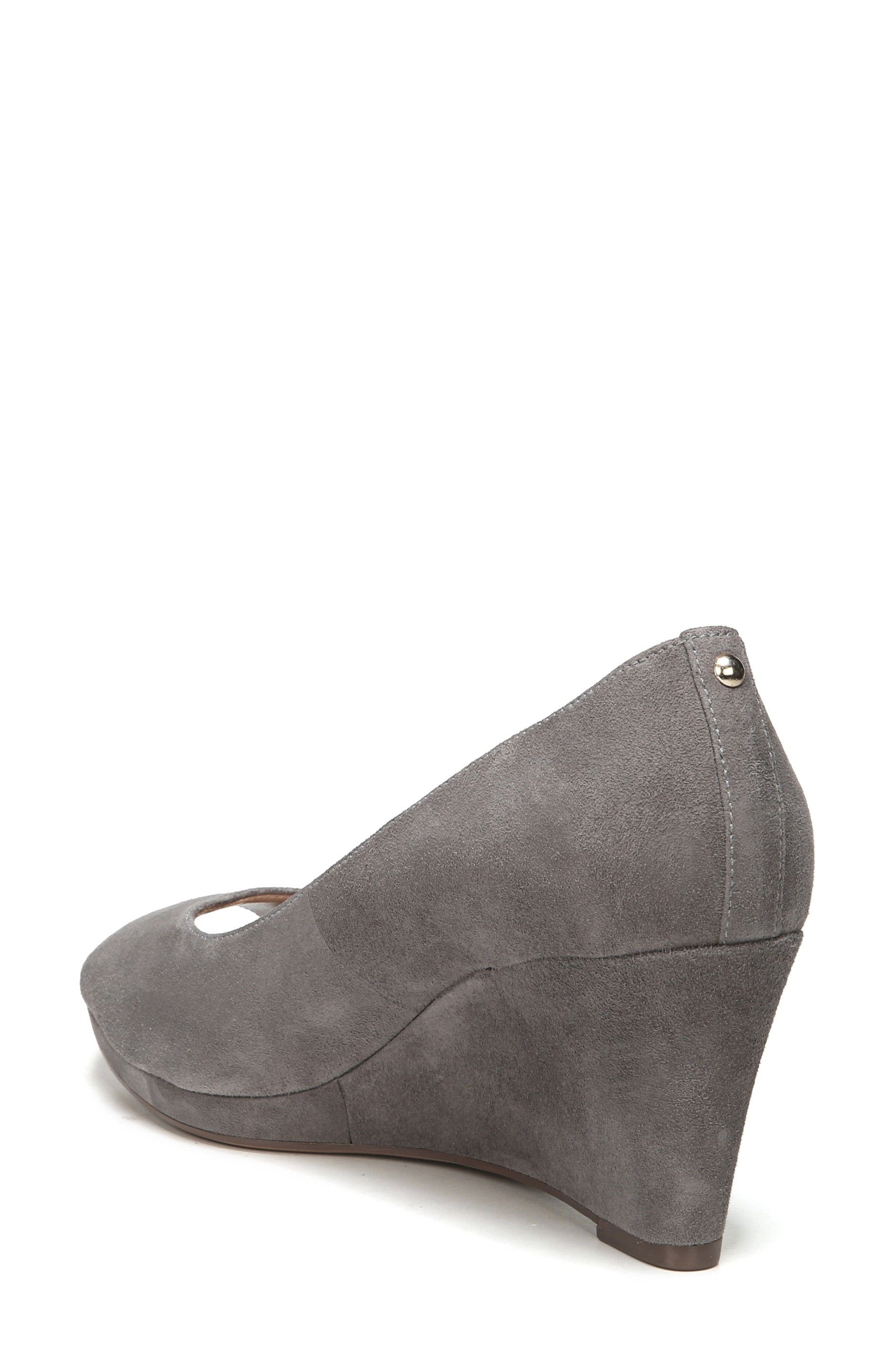 Alternate Image 2  - Naturalizer Olivia Peep Toe Wedge (Women)