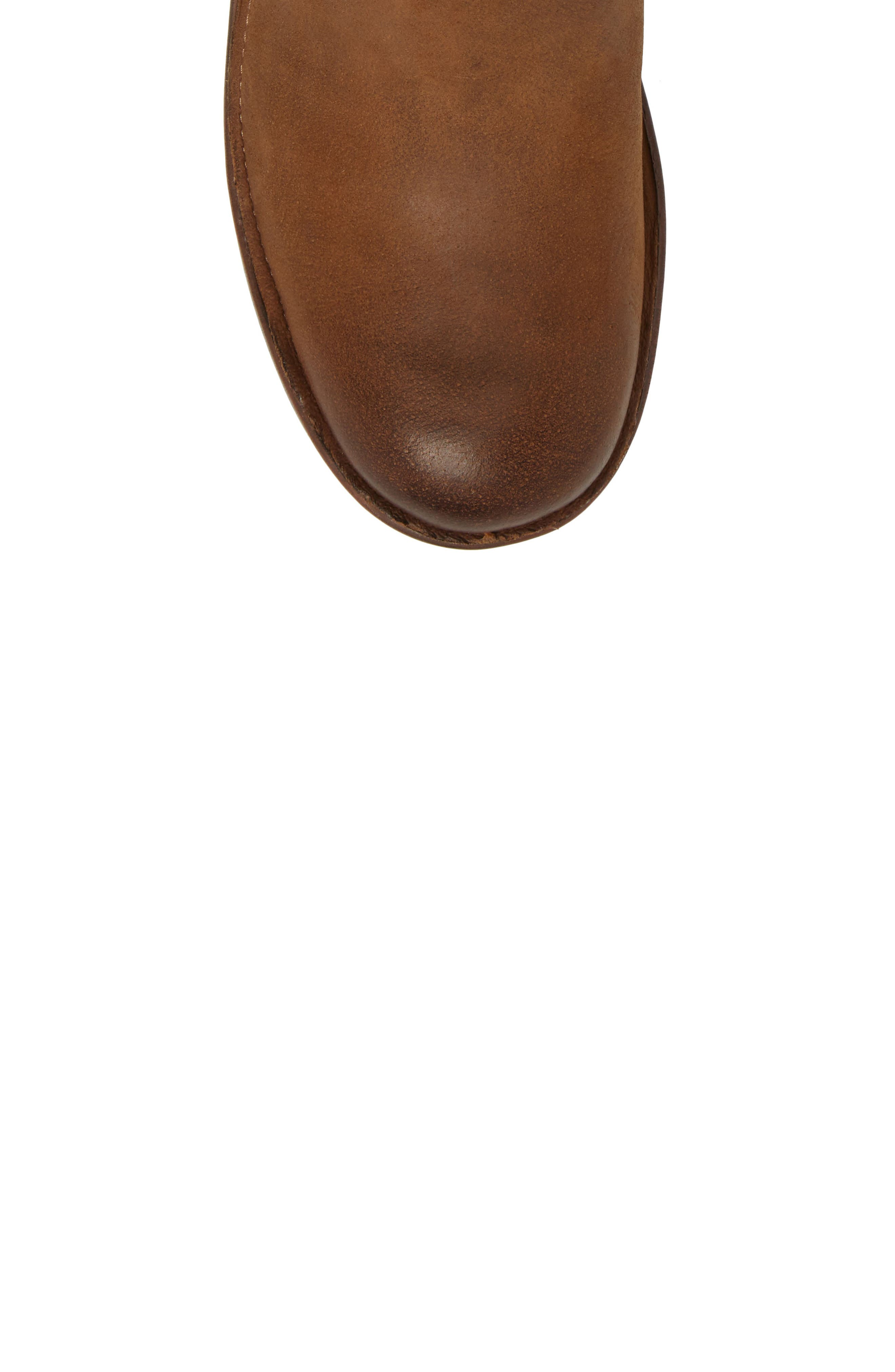 Reign Bootie,                             Alternate thumbnail 5, color,                             Dark Brown Leather