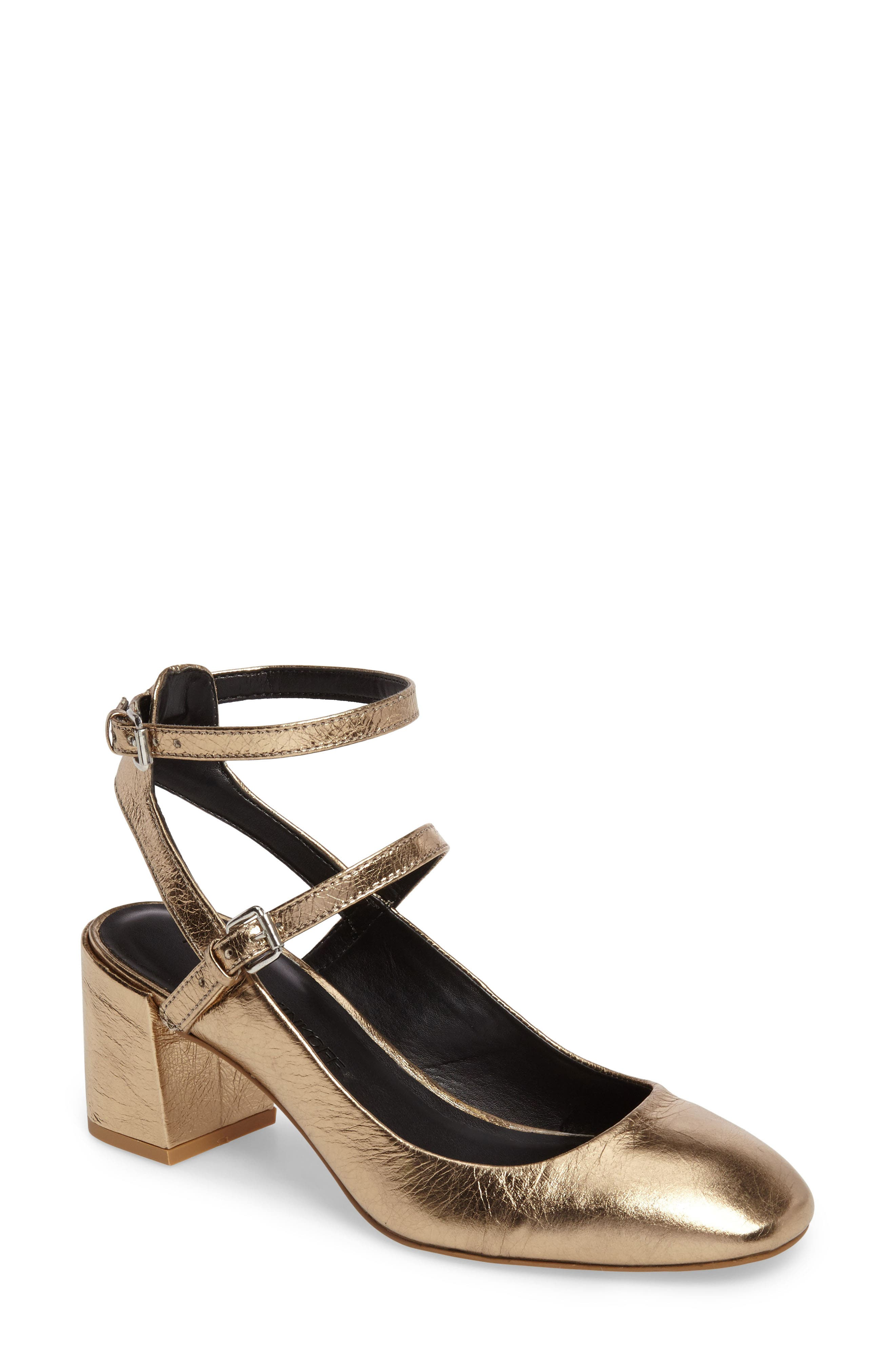 Alternate Image 1 Selected - Rebecca Minkoff 'Brooke' Ankle Strap Pump (Women)
