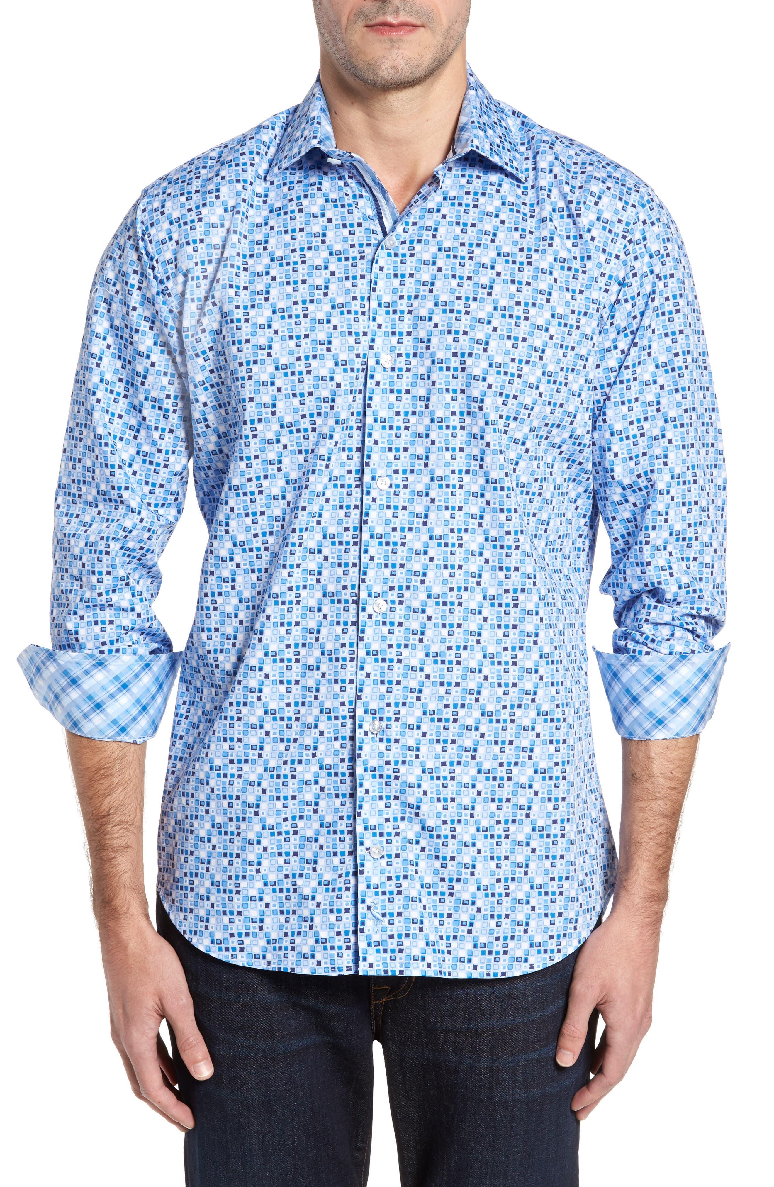 TailorByrd Nuttall Sport Shirt (Big & Tall)