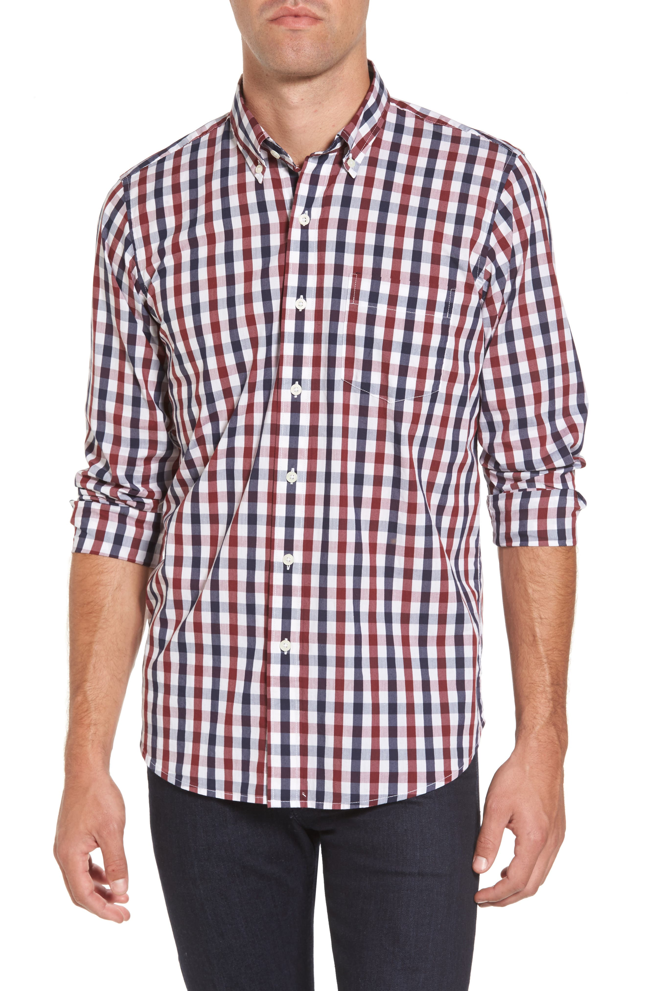 Main Image - Tailor Vintage Regular Fit Performance Sport Shirt