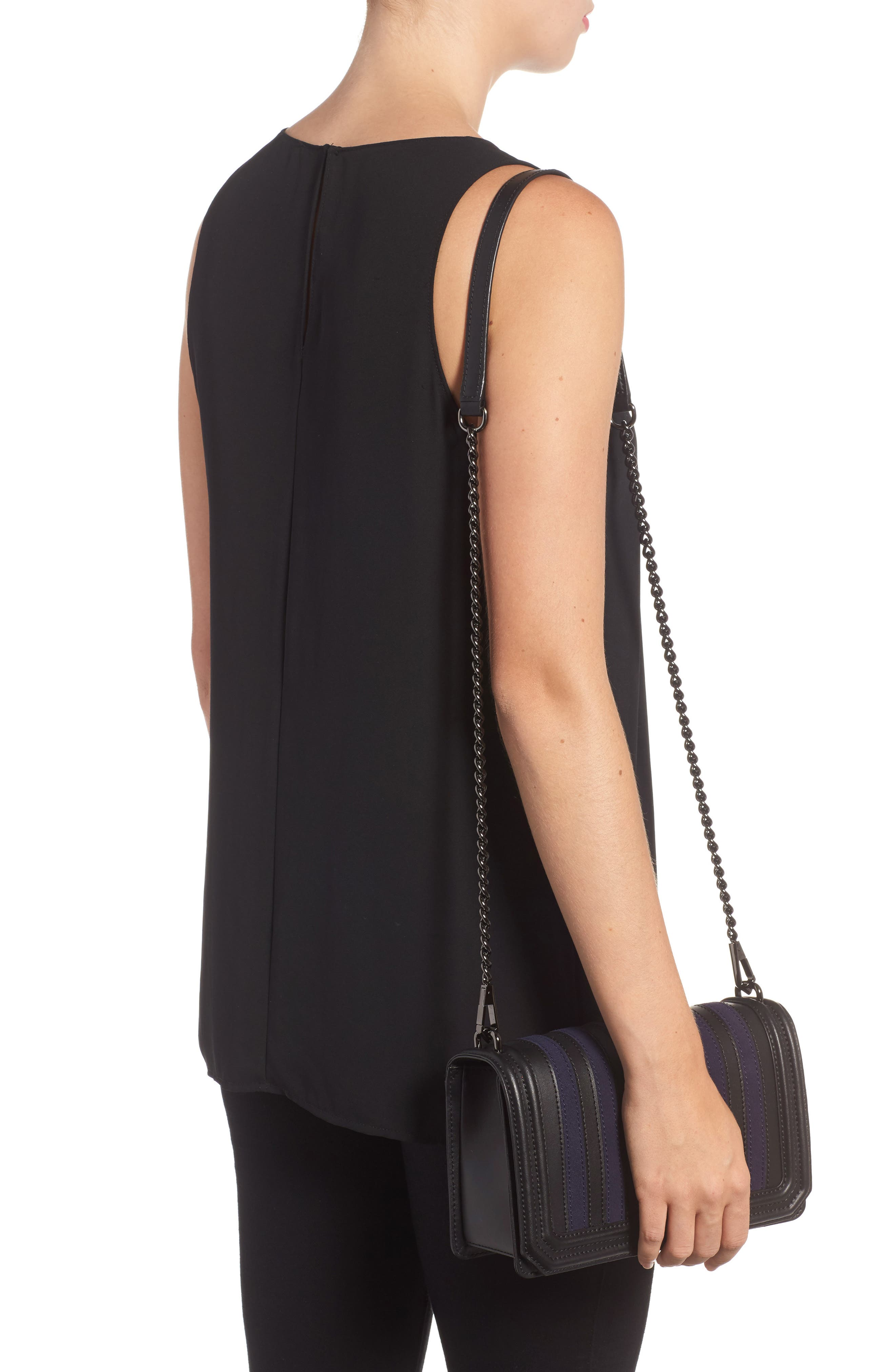 Alternate Image 2  - Rebecca Minkoff Love Stripe Quilted Crossbody Bag
