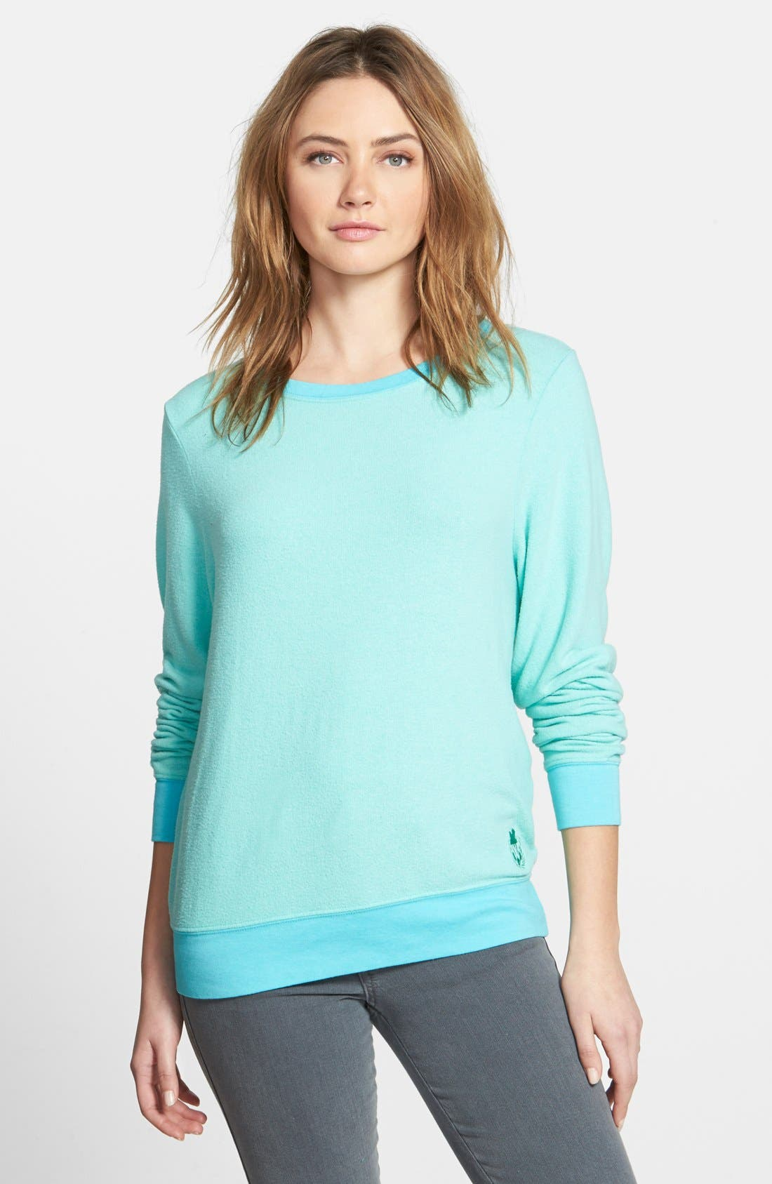 Main Image - Wildfox 'Baggy Beach Jumper' Pullover