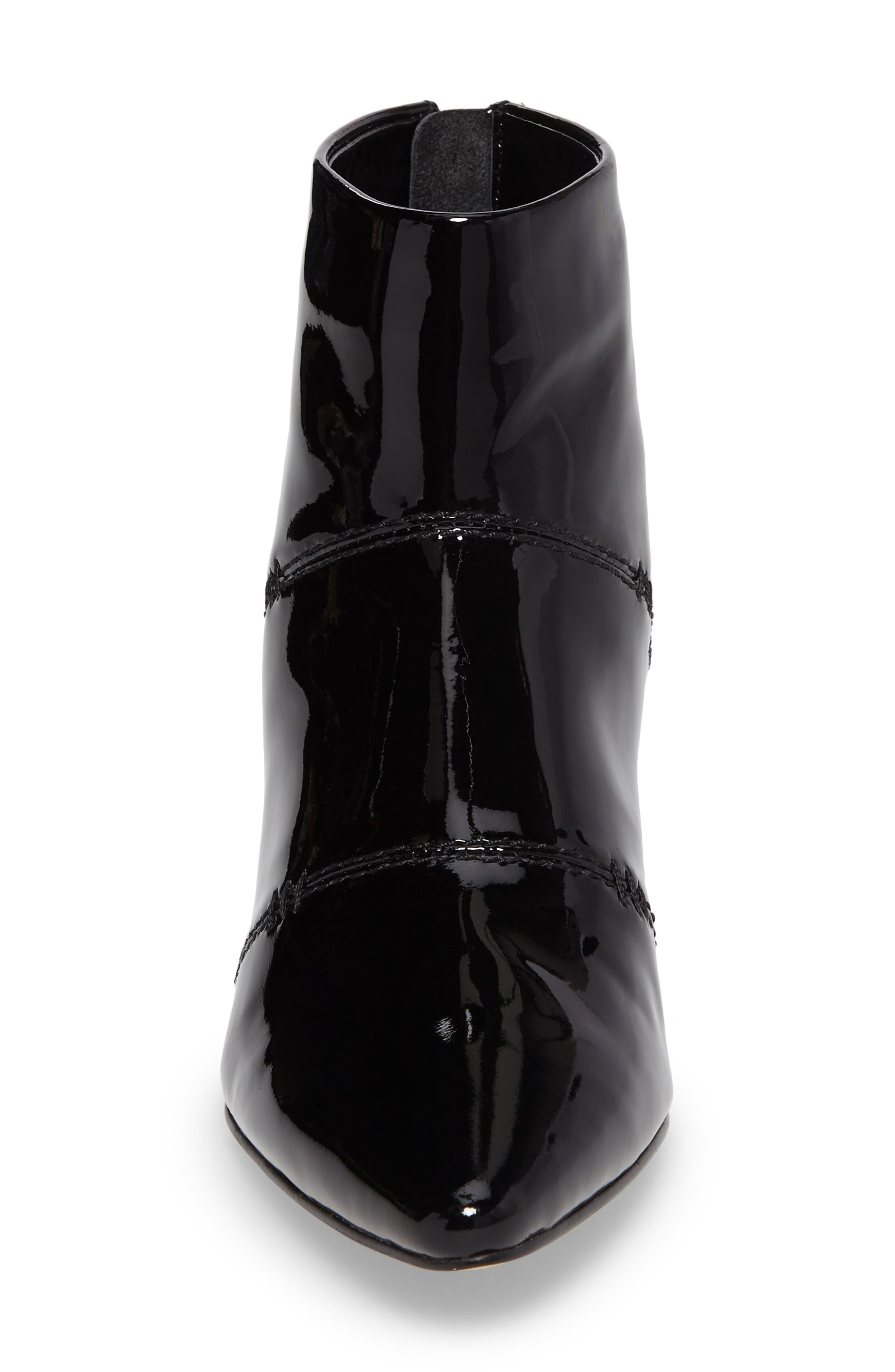 Rina Bootie,                             Alternate thumbnail 4, color,                             Black Patent