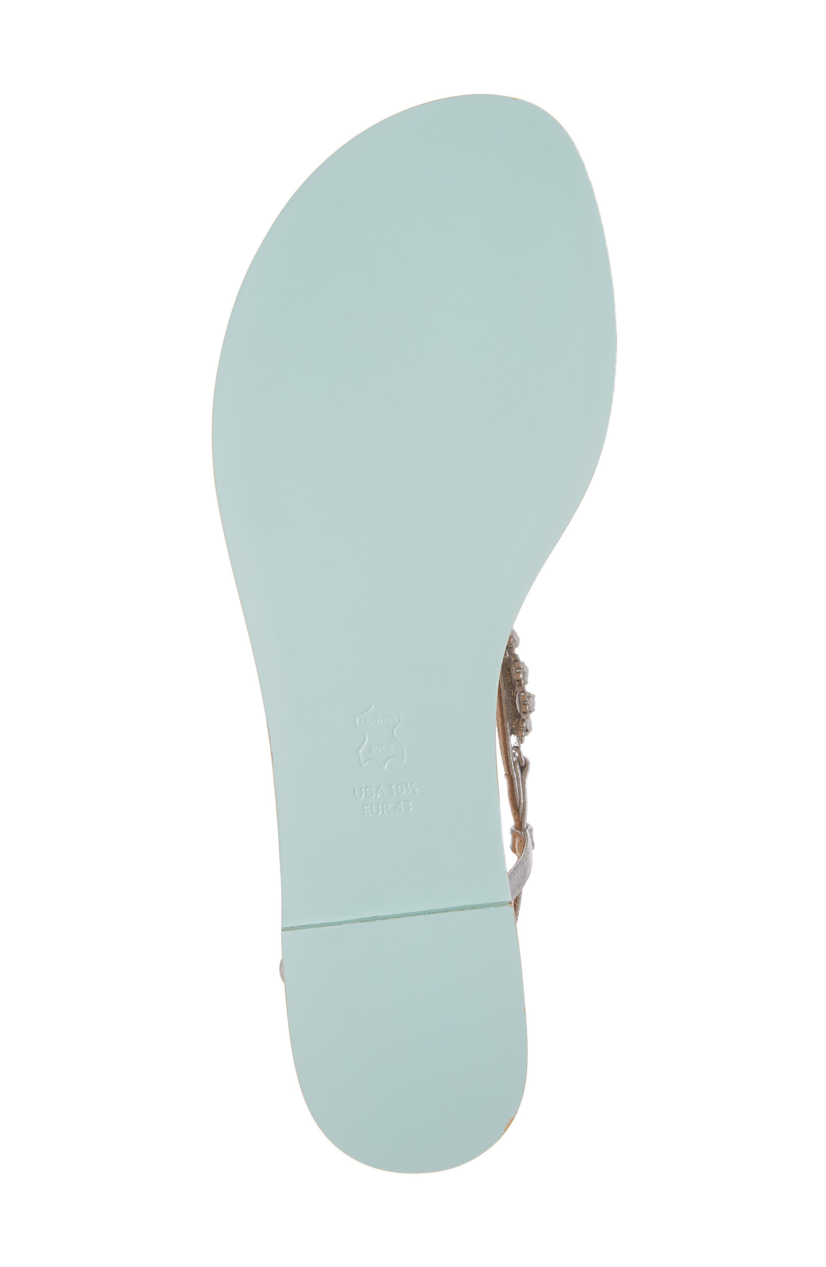 Rhea Sandal,                             Alternate thumbnail 6, color,                             Silver Leather