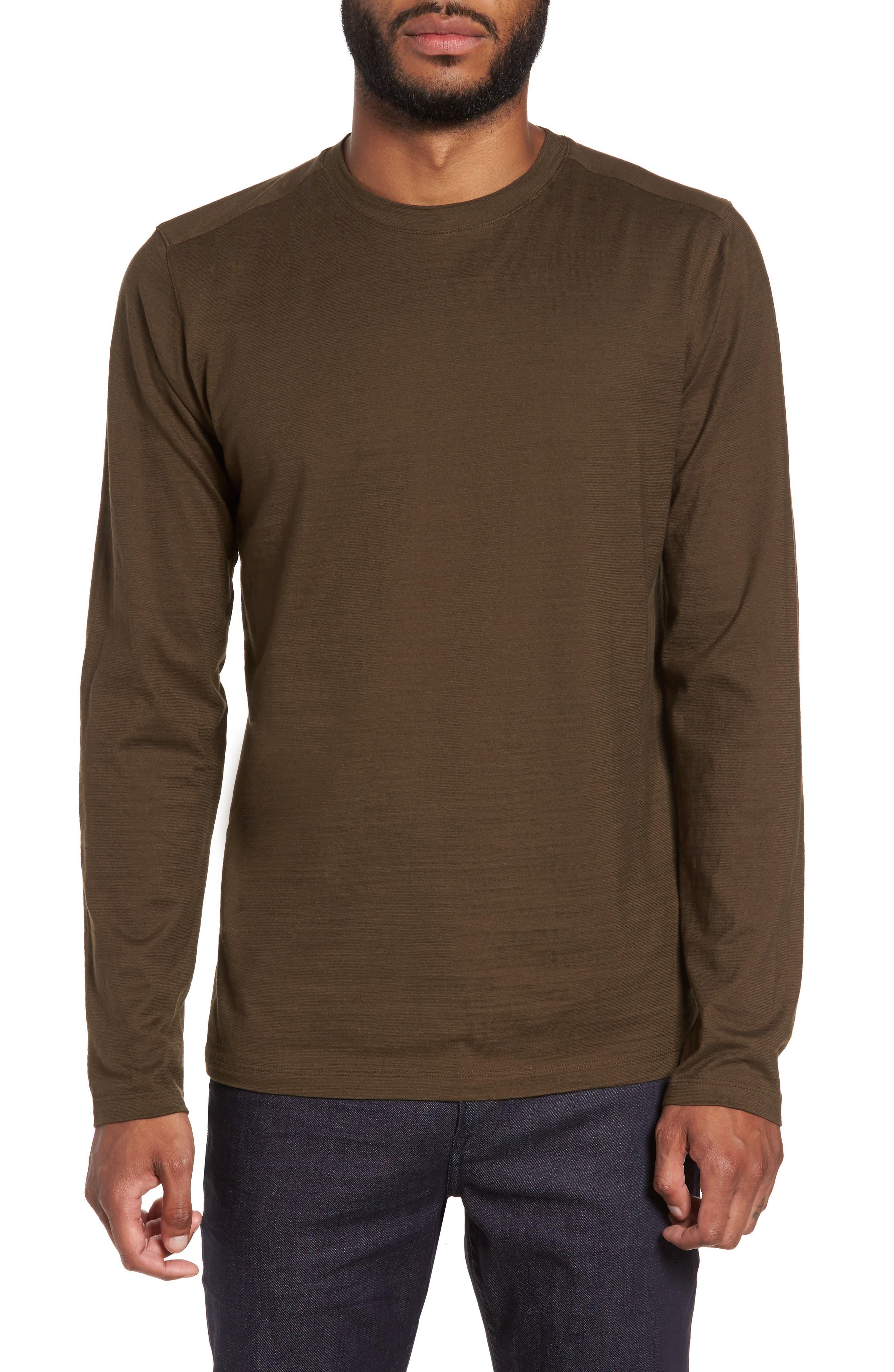 Tenison Long Sleeve T-Shirt,                         Main,                         color, Olive