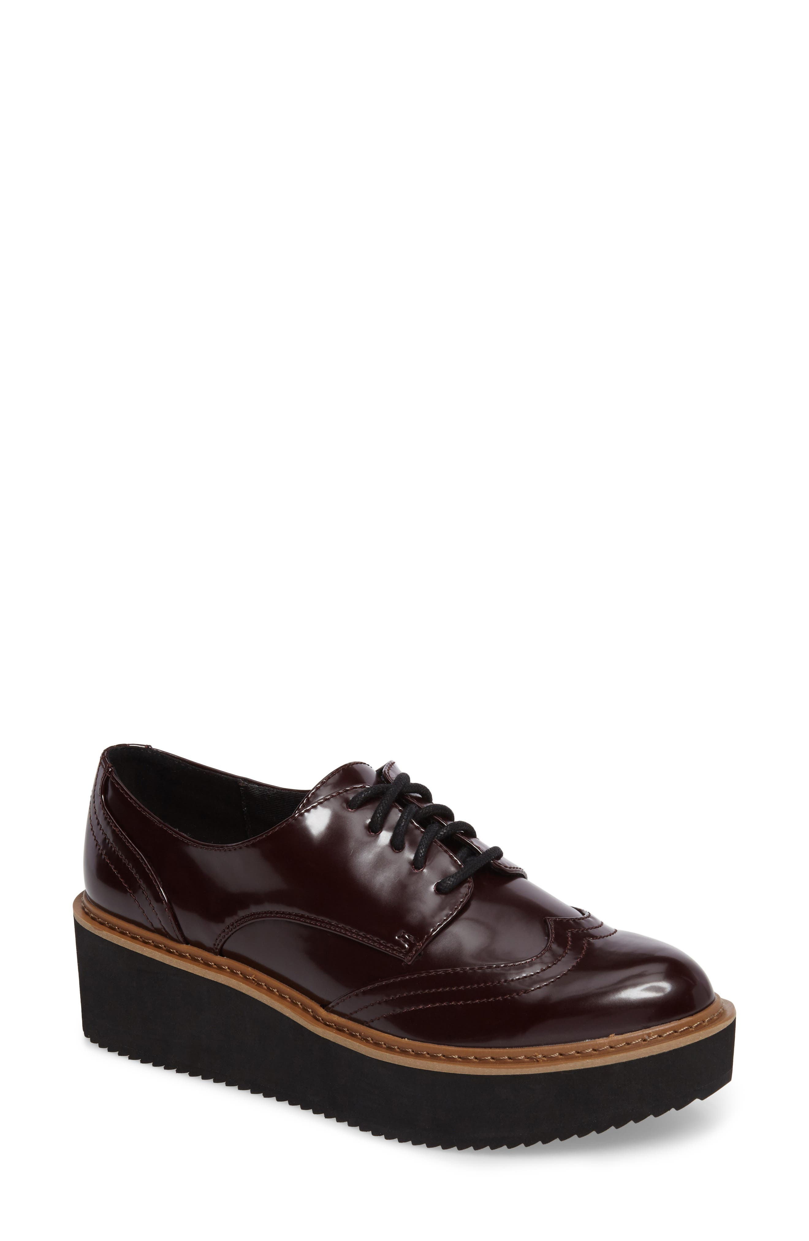 Lydia Oxford,                         Main,                         color, Burgundy Patent