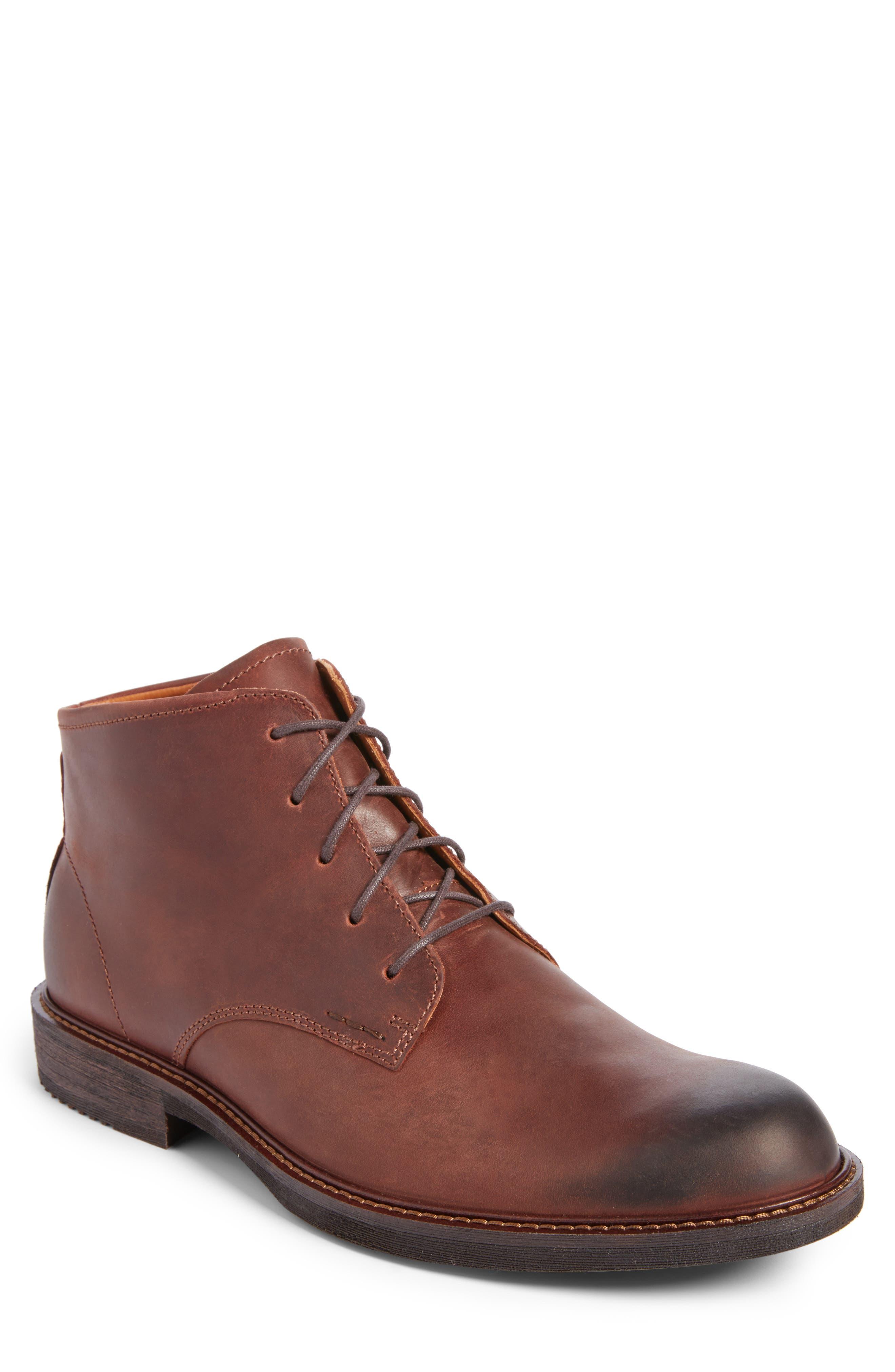 Alternate Image 1 Selected - ECCO 'Kenton' Plain Toe Boot (Men)
