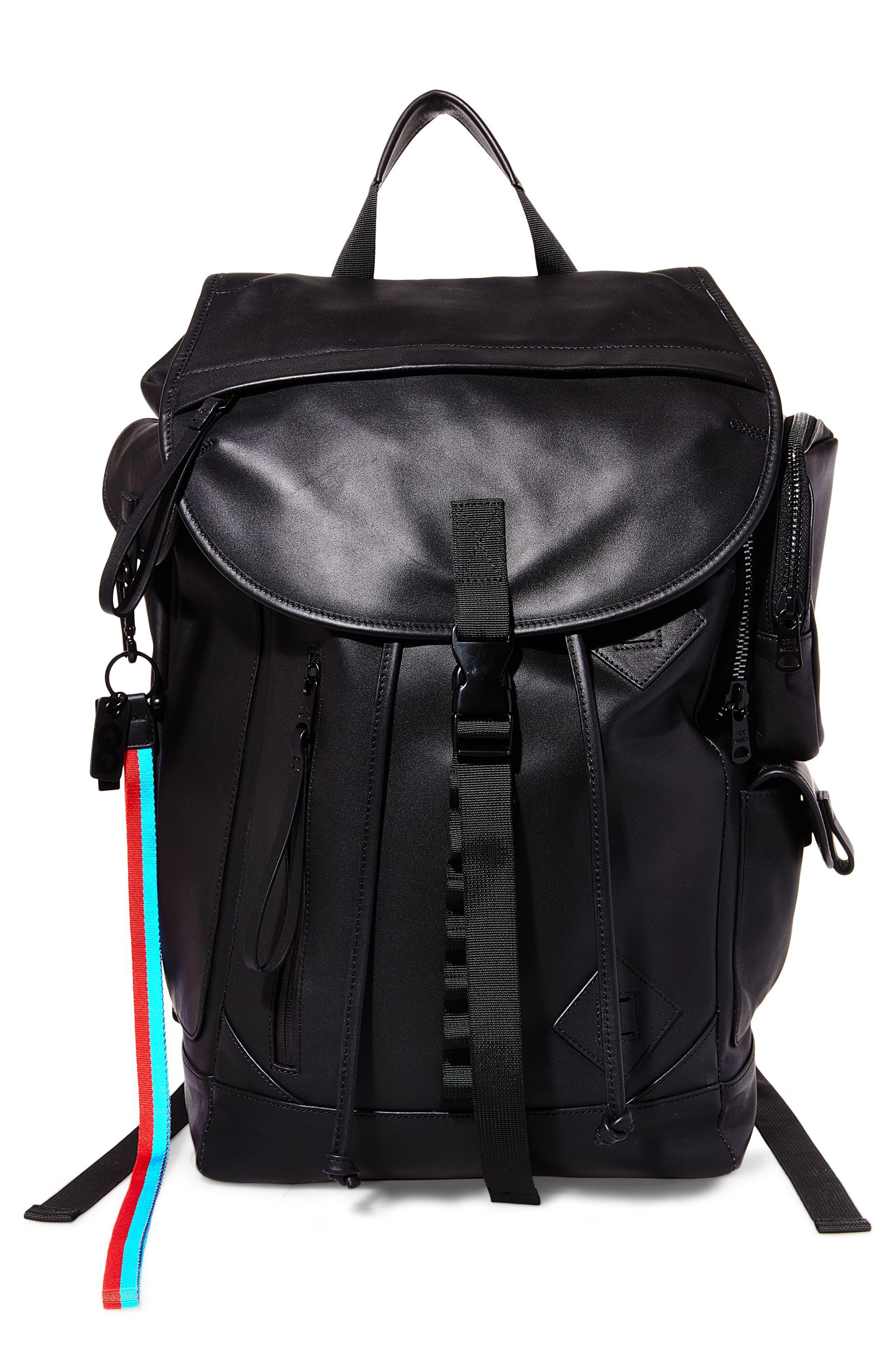 GQ x Steve Madden Leather Backpack