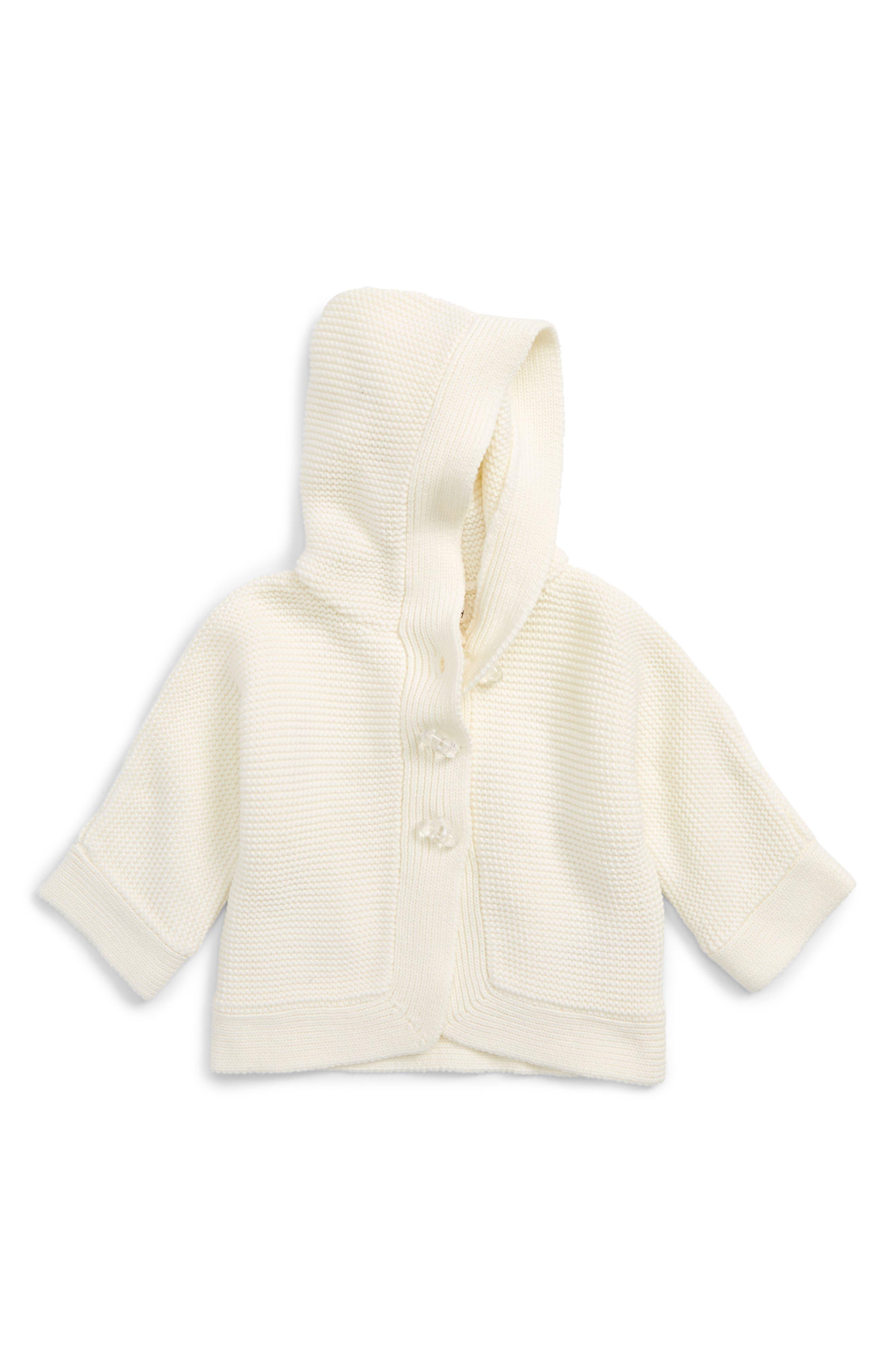 Hatley Rainbow Duffle Hooded Sweater (Baby Girls)
