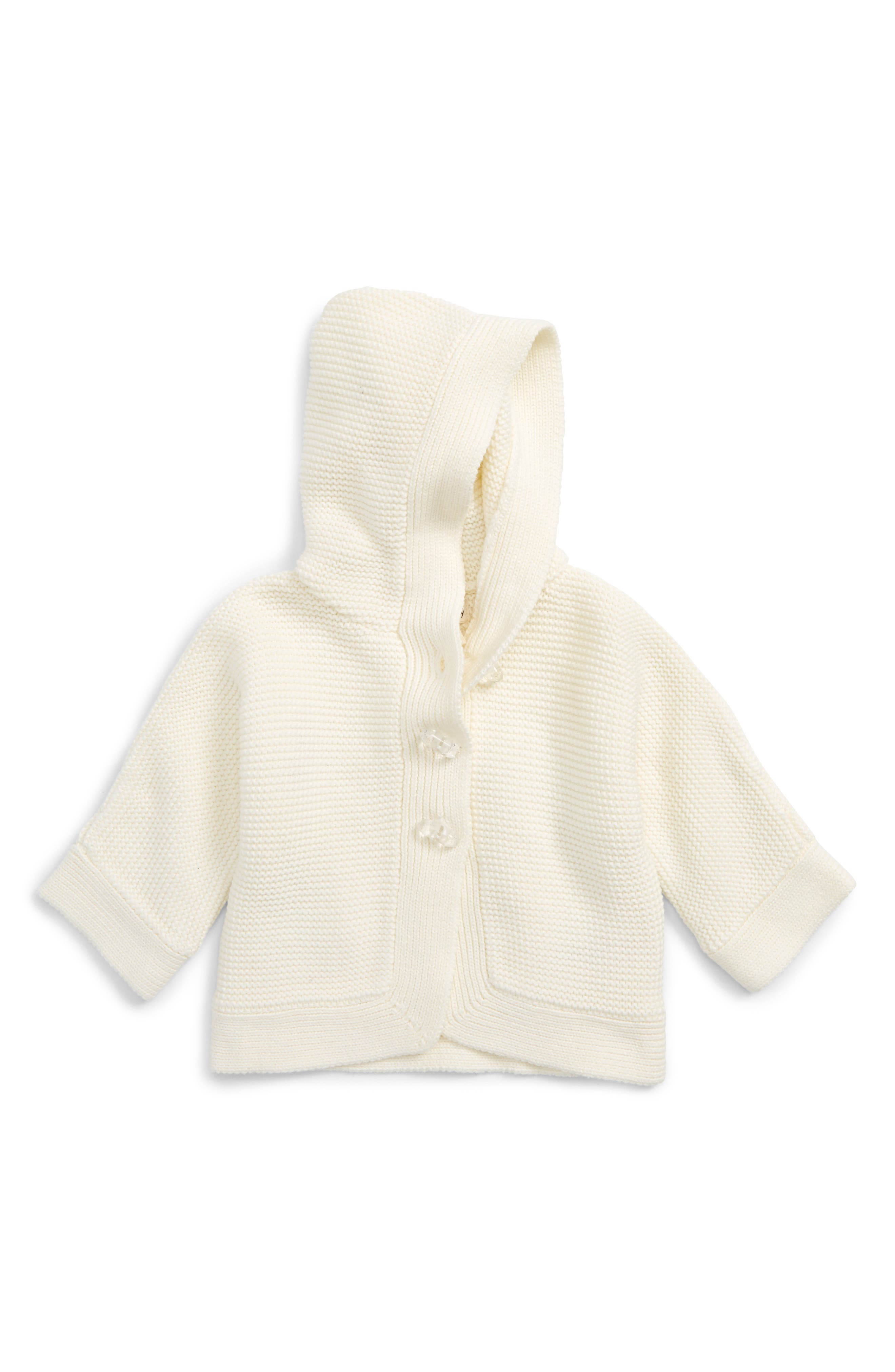 Hatley Rainbow Duffle Hooded Sweater (Baby Girls)