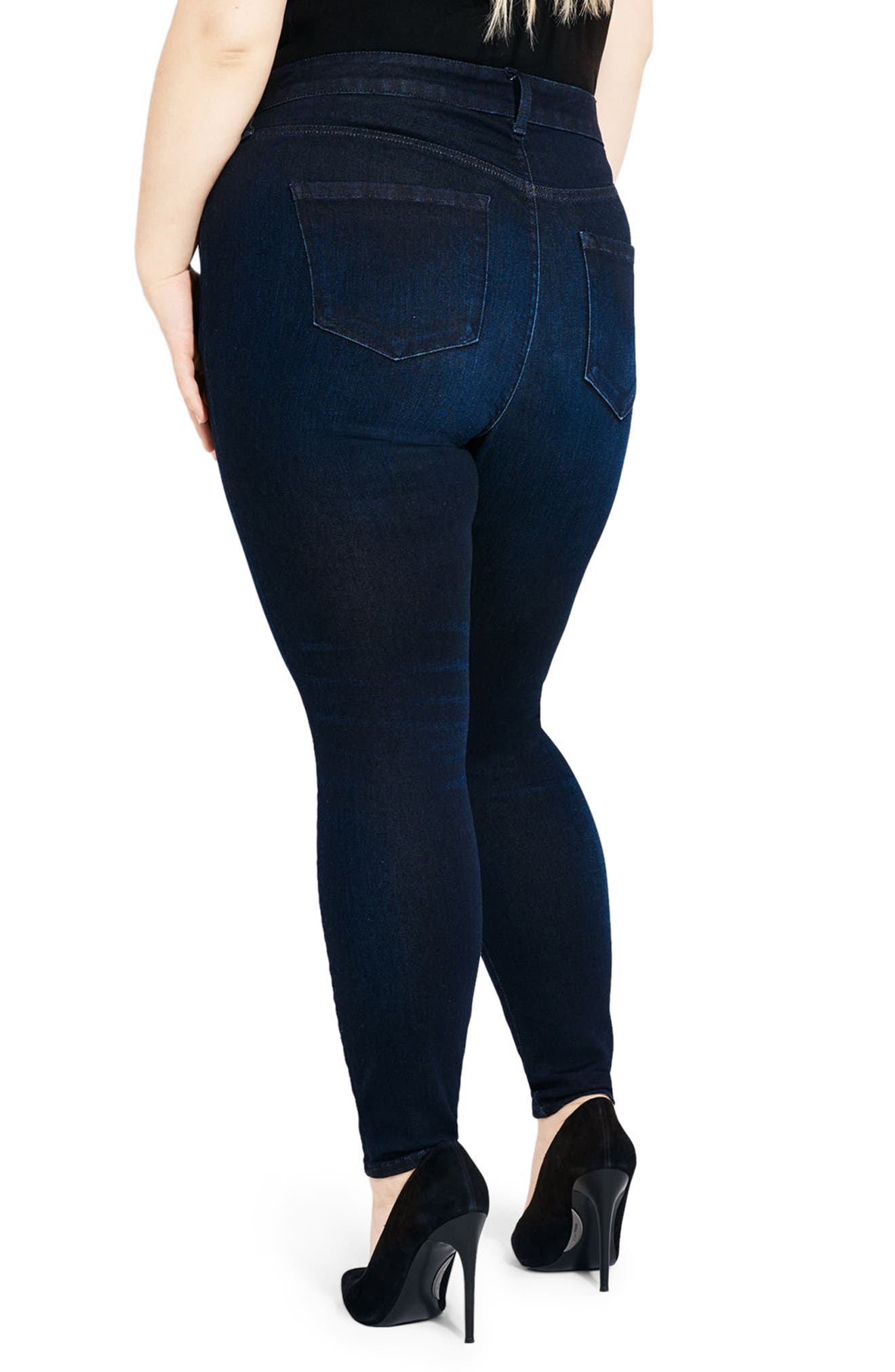 Alternate Image 2  - AYR The One Love High Waist Skinny Jeans (Jac's Jean) (Plus Size)