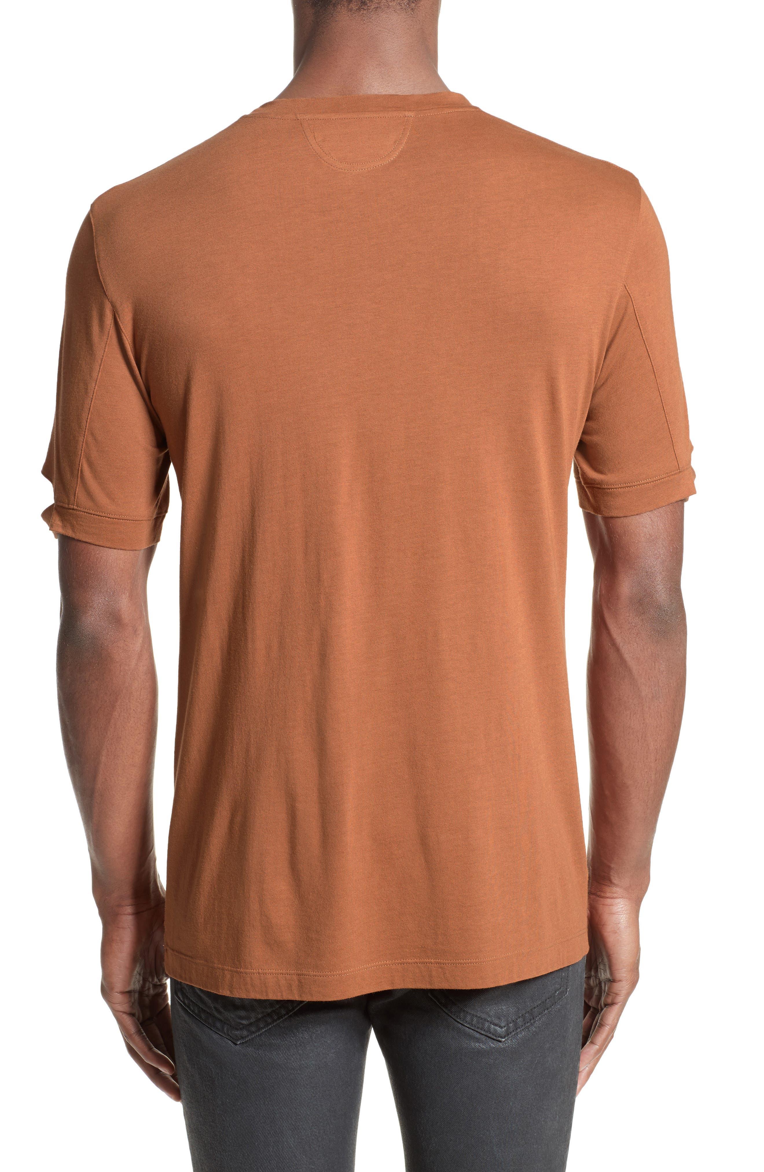 Alternate Image 2  - Helmut Lang Sliced Sleeve T-Shirt