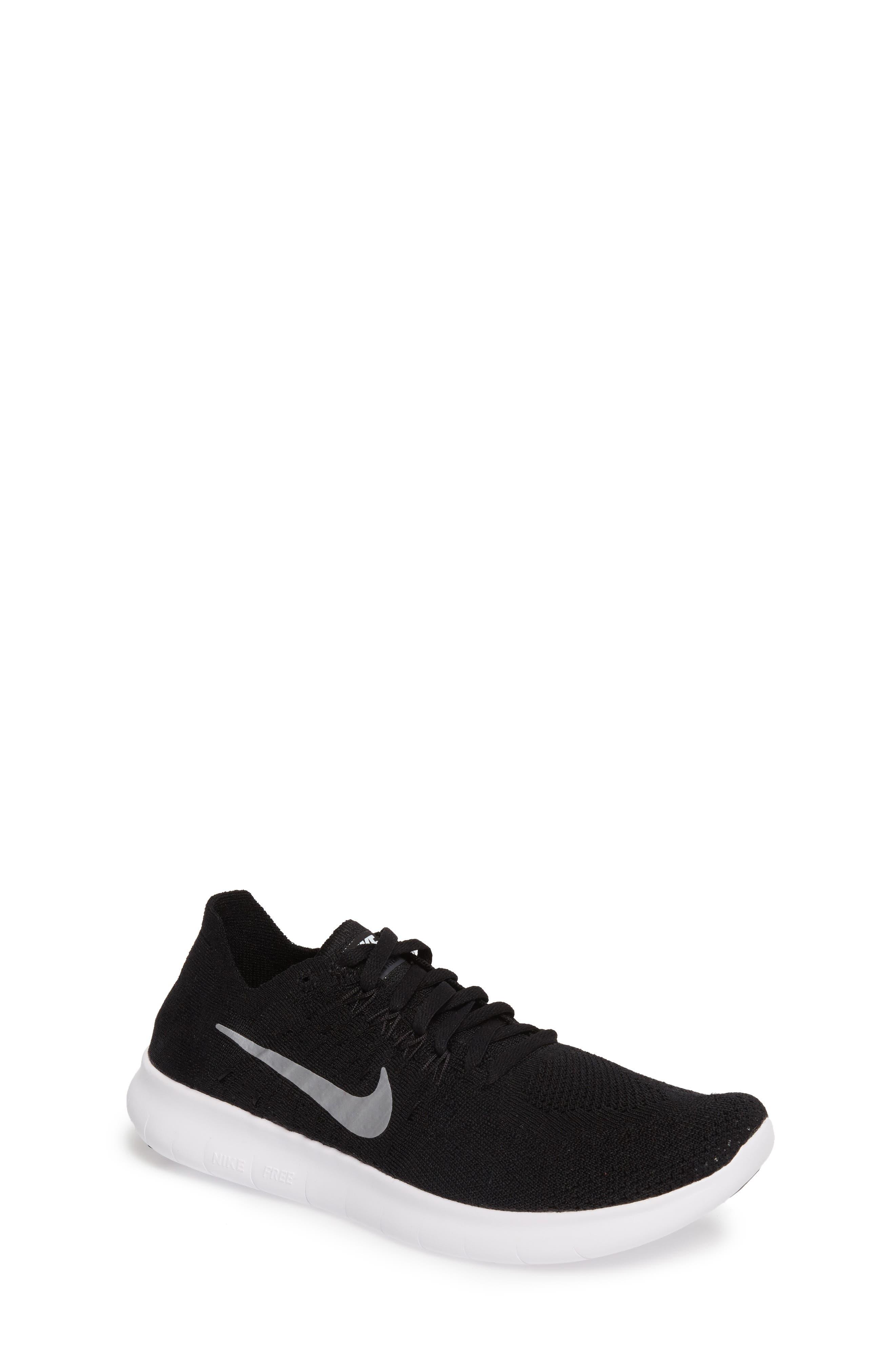Nike Free RN Flyknit 2017 Running Shoe (Big Kid)