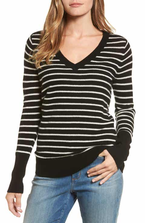 black and white striped sweater | Nordstrom