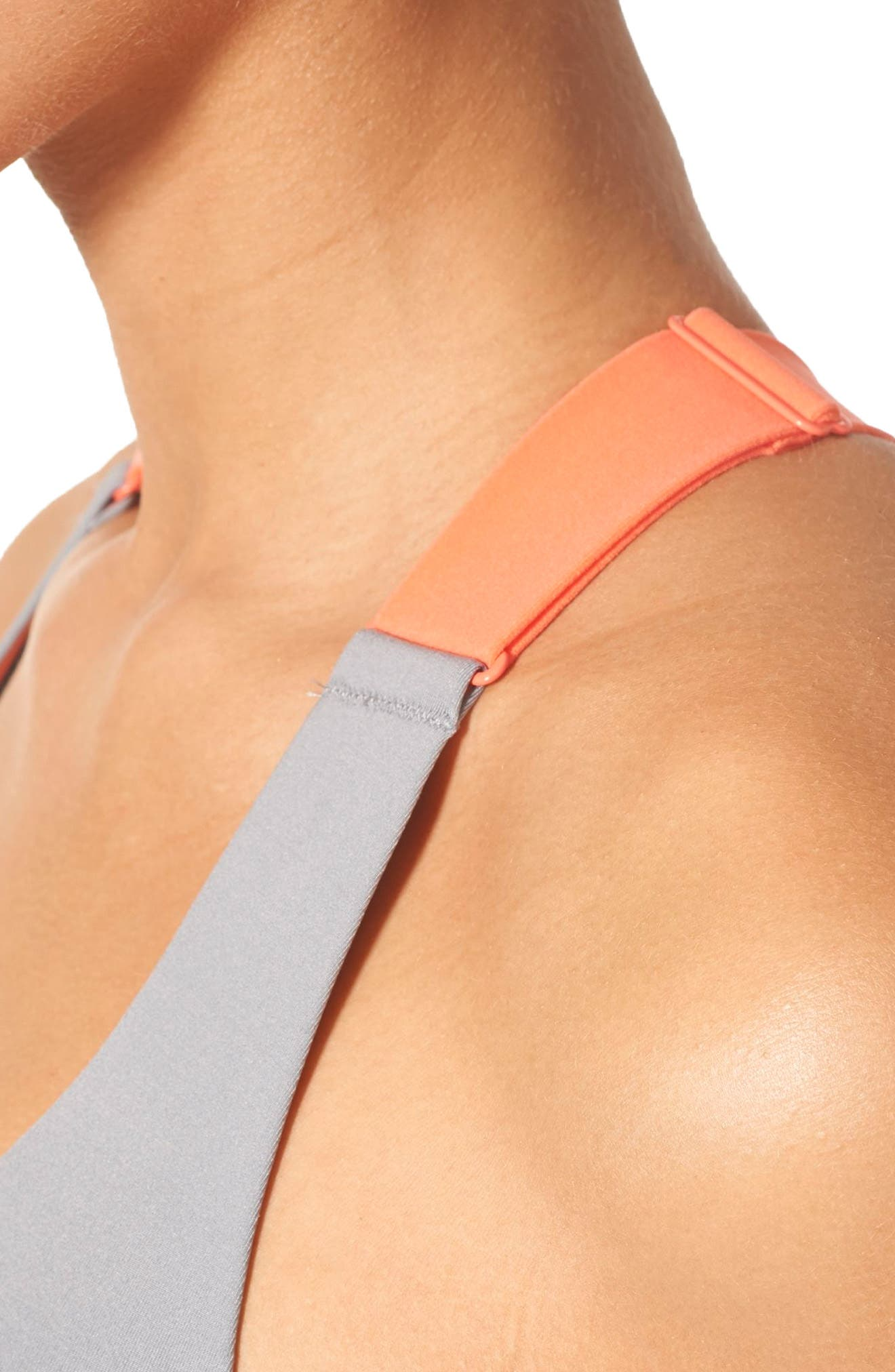Alternate Image 5  - adidas Committed Racerback Sports Bra