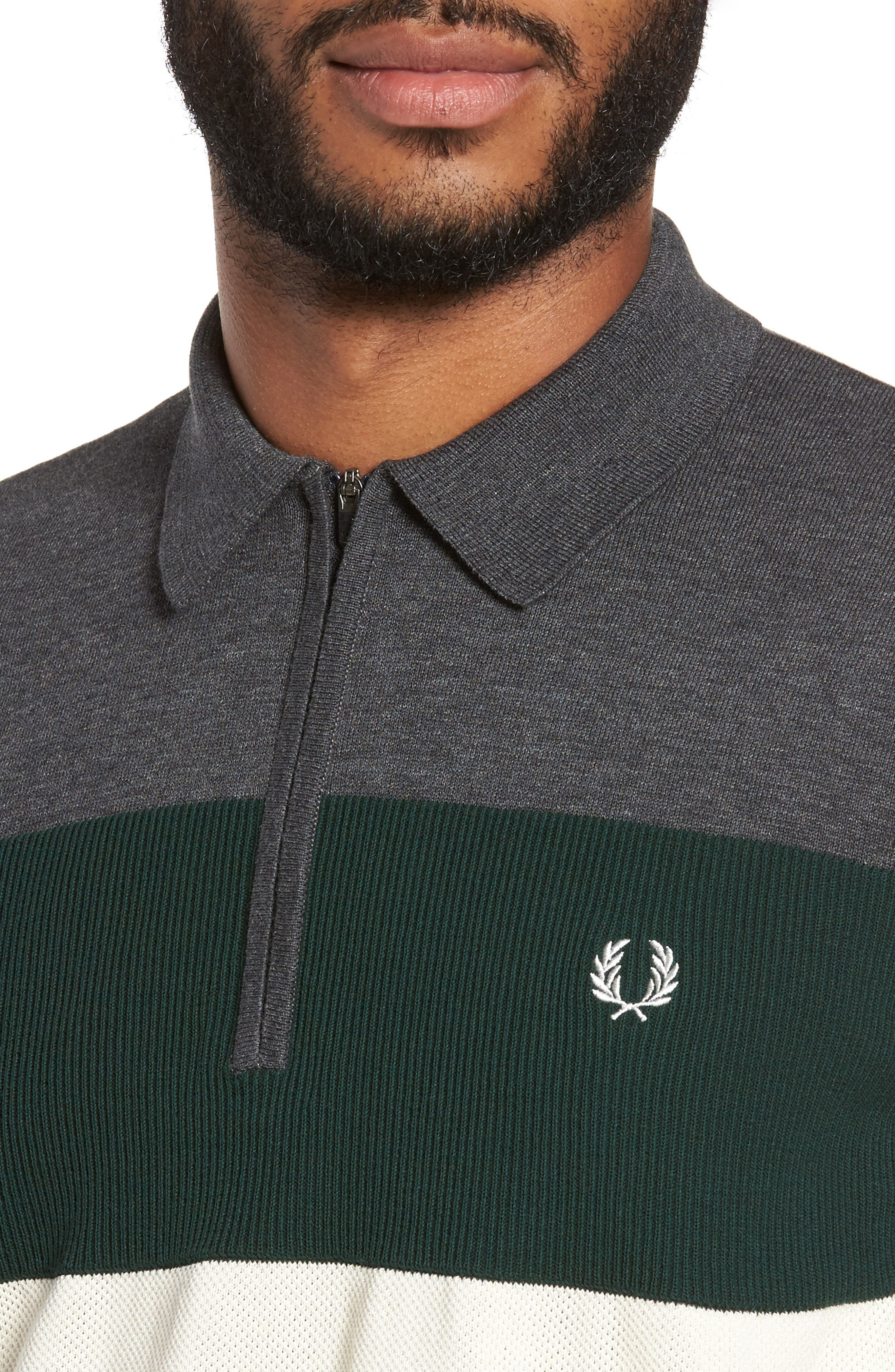 Alternate Image 4  - Fred Perry Colorblock Polo