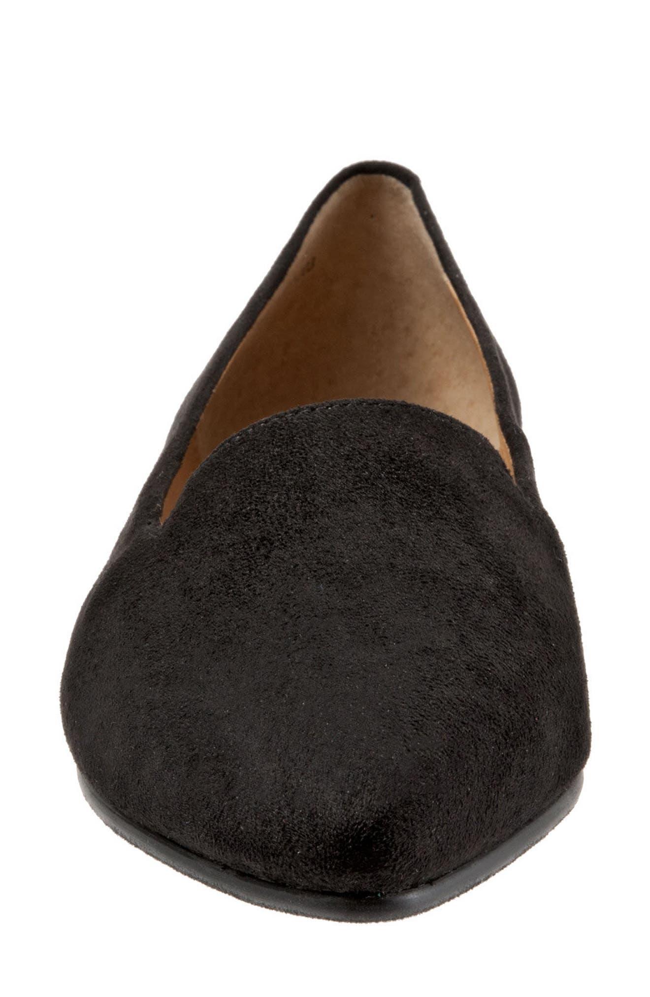 Alternate Image 4  - Trotters Harlowe Pointy Toe Loafer (Women)