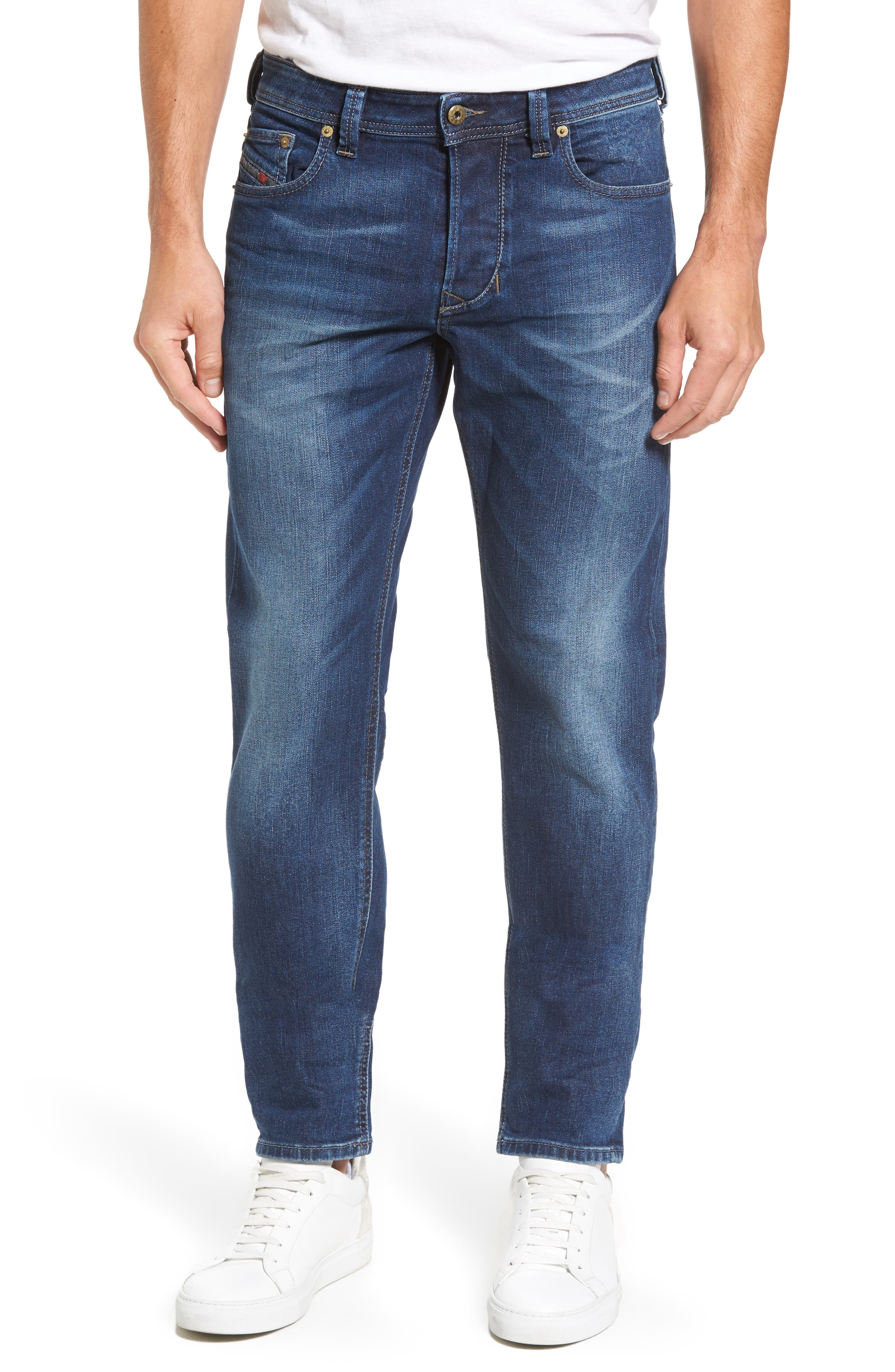 Larkee-Beex Relaxed Fit Jeans,                         Main,                         color, Denim