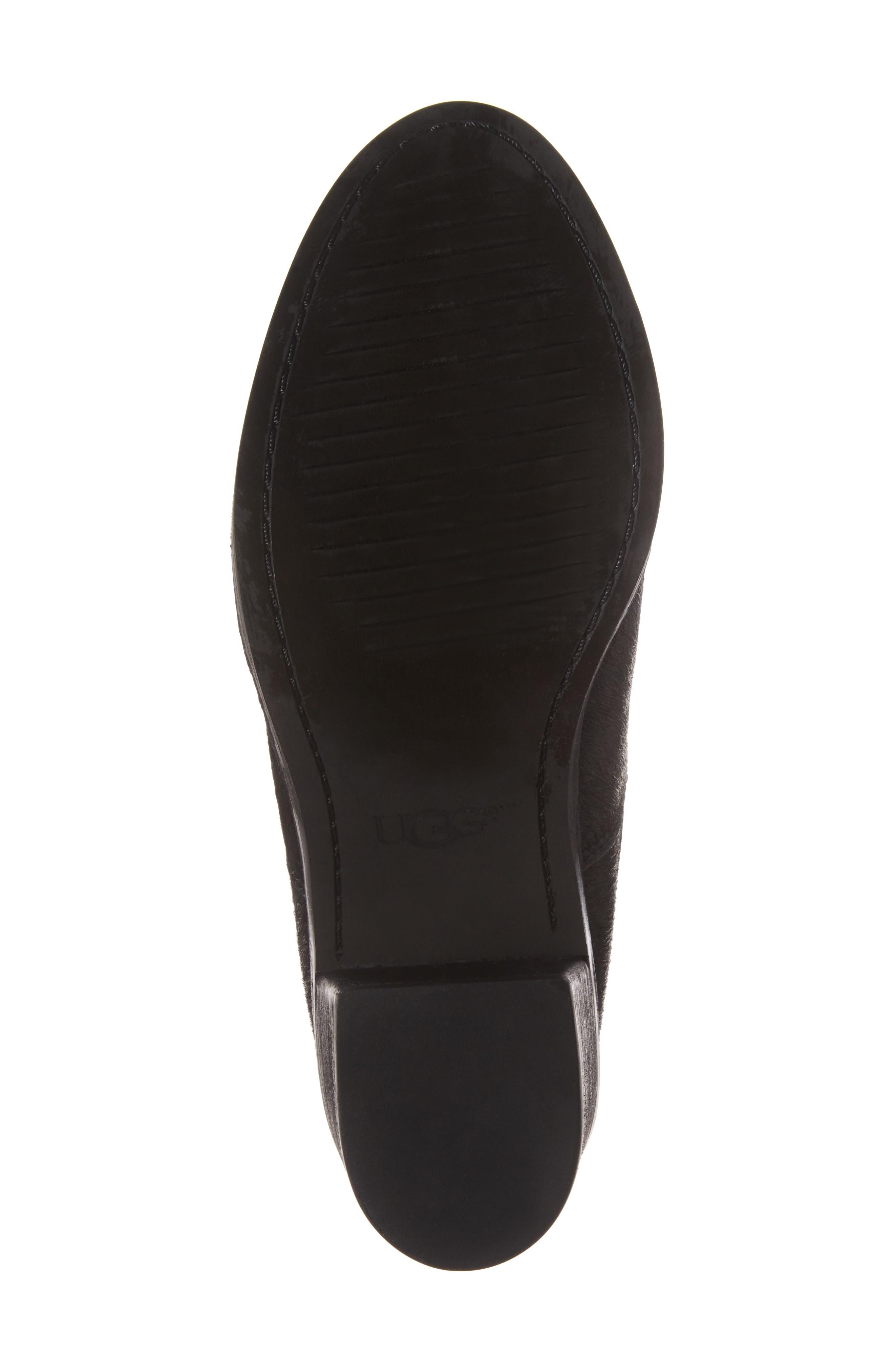 Camden Genuine Calf Hair Chelsea Boot,                             Alternate thumbnail 6, color,                             Black Calf Hair Leather