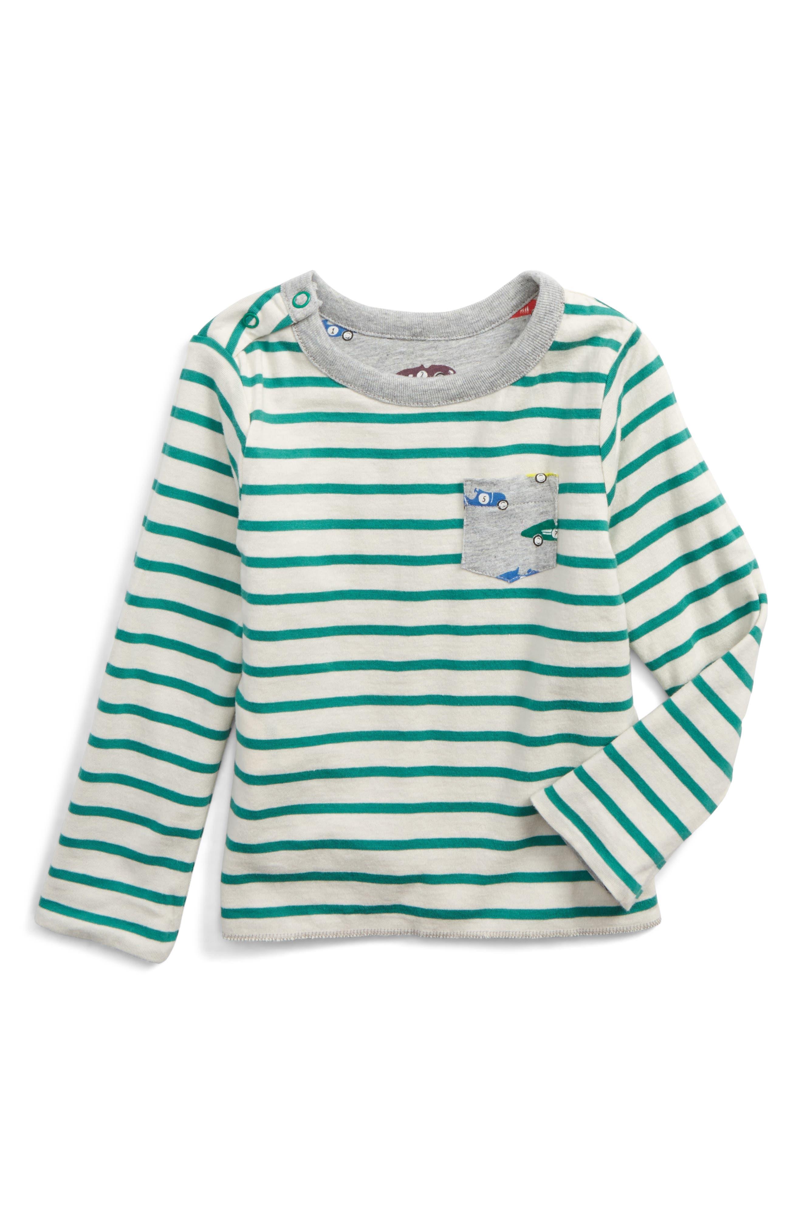 Alternate Image 2  - Mini Boden Reversible Print T-Shirt (Baby Boys & Toddler Boys)
