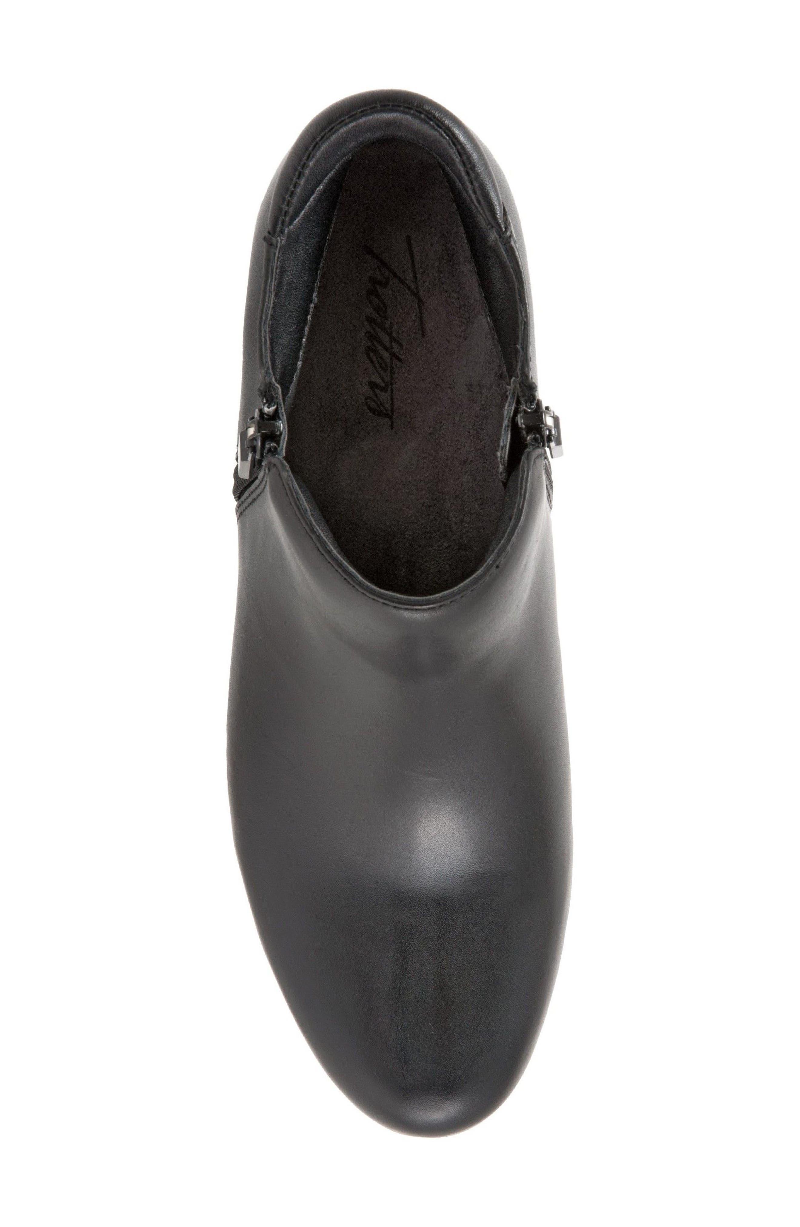 Major Bootie,                             Alternate thumbnail 5, color,                             Black Leather