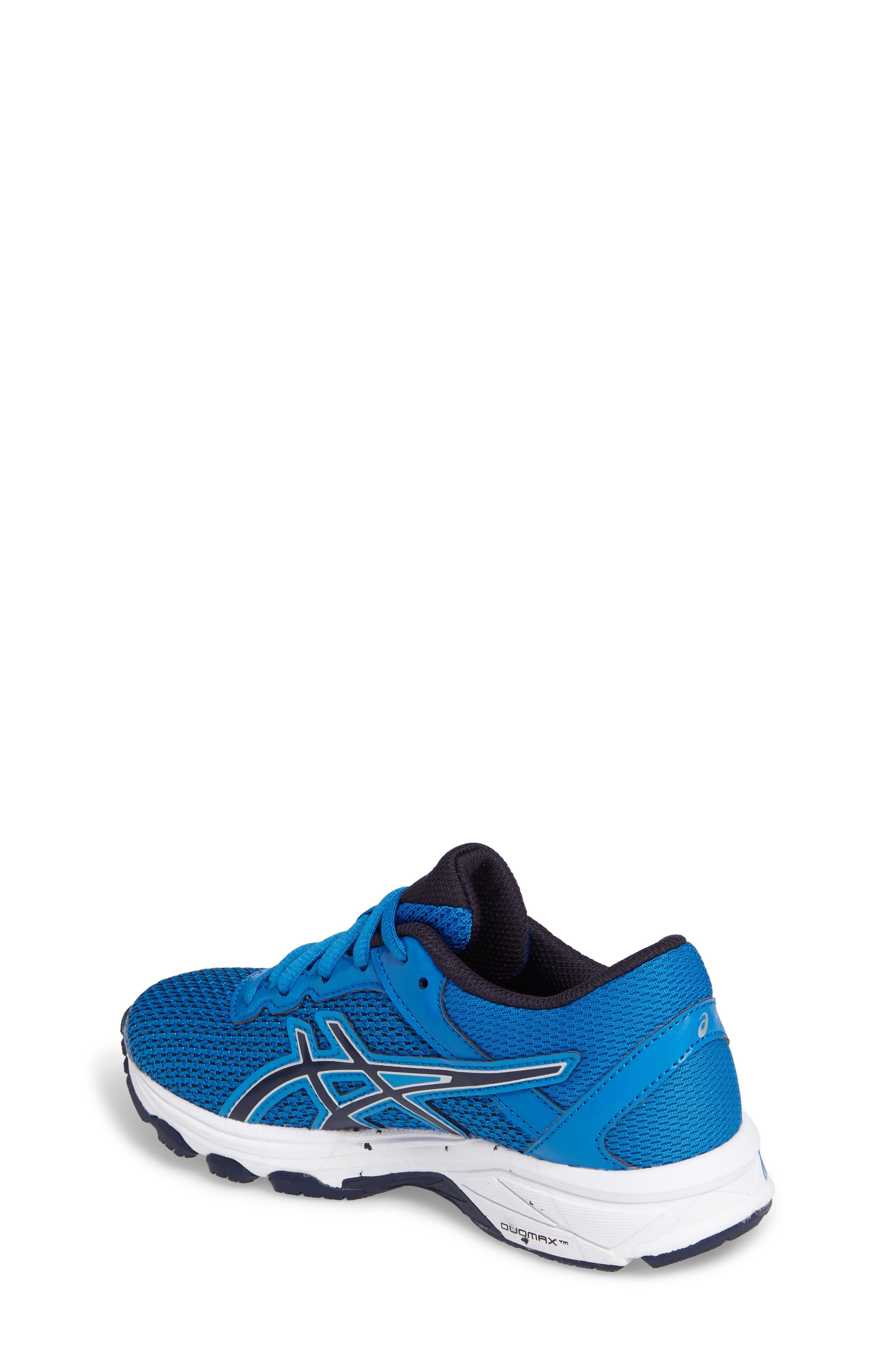 Asics GT-1000<sup>™</sup> 6 GS Sneaker,                             Alternate thumbnail 2, color,                             Blue/ Peacock