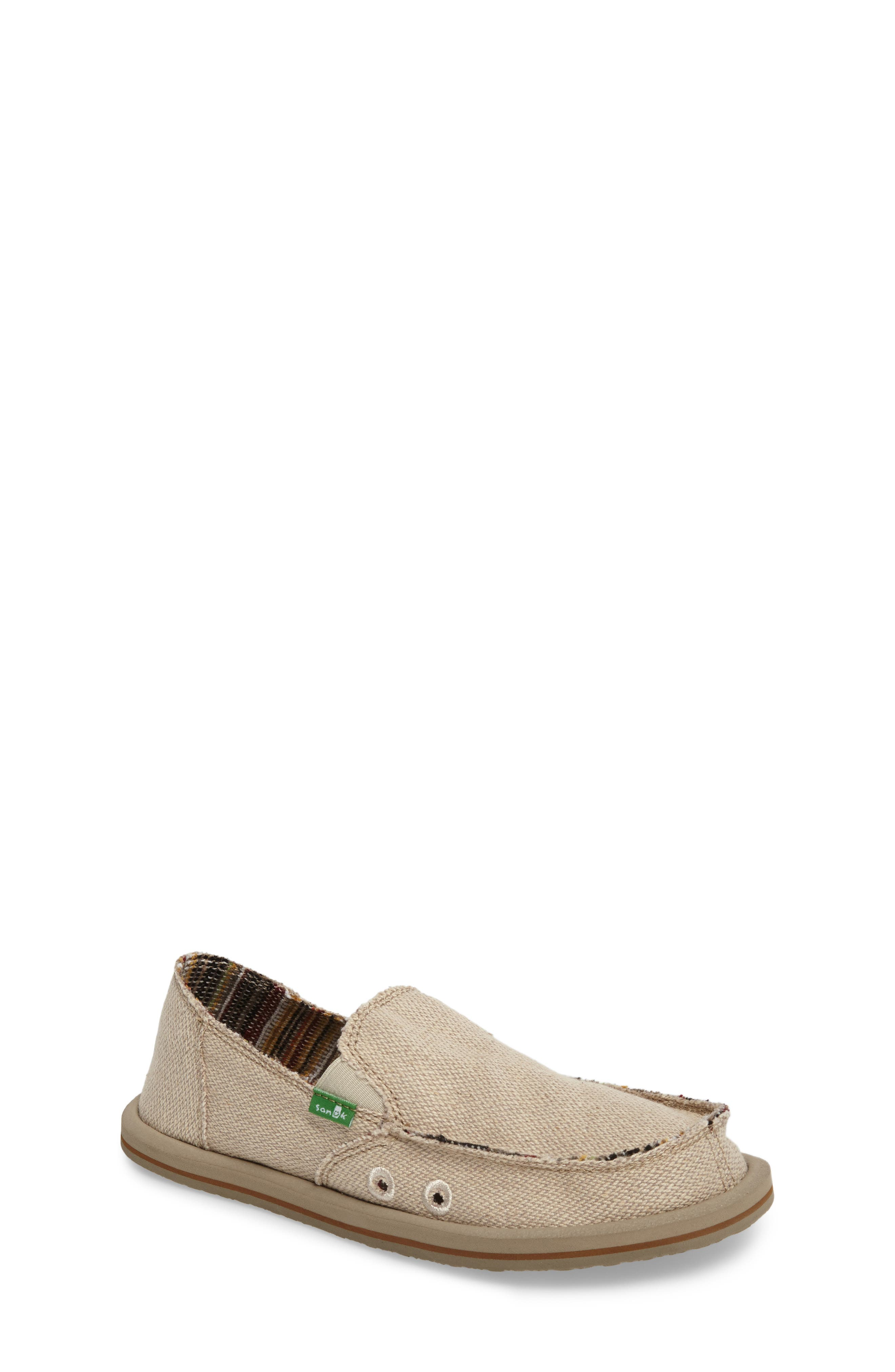 Lil Donna Slip-On,                             Main thumbnail 1, color,                             Natural