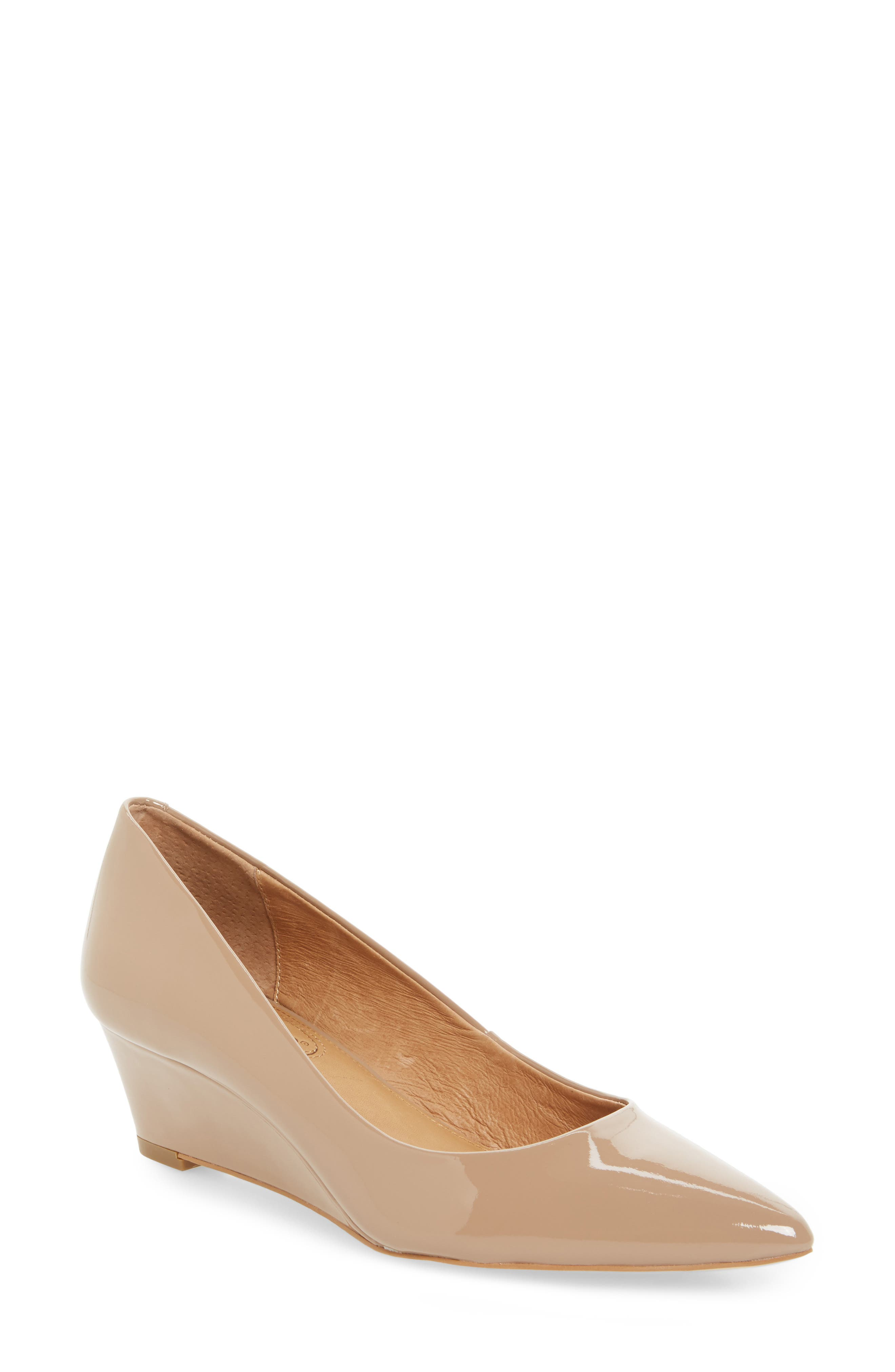 Main Image - Corso Como Nelly Pointy Toe Wedge Pump (Women)