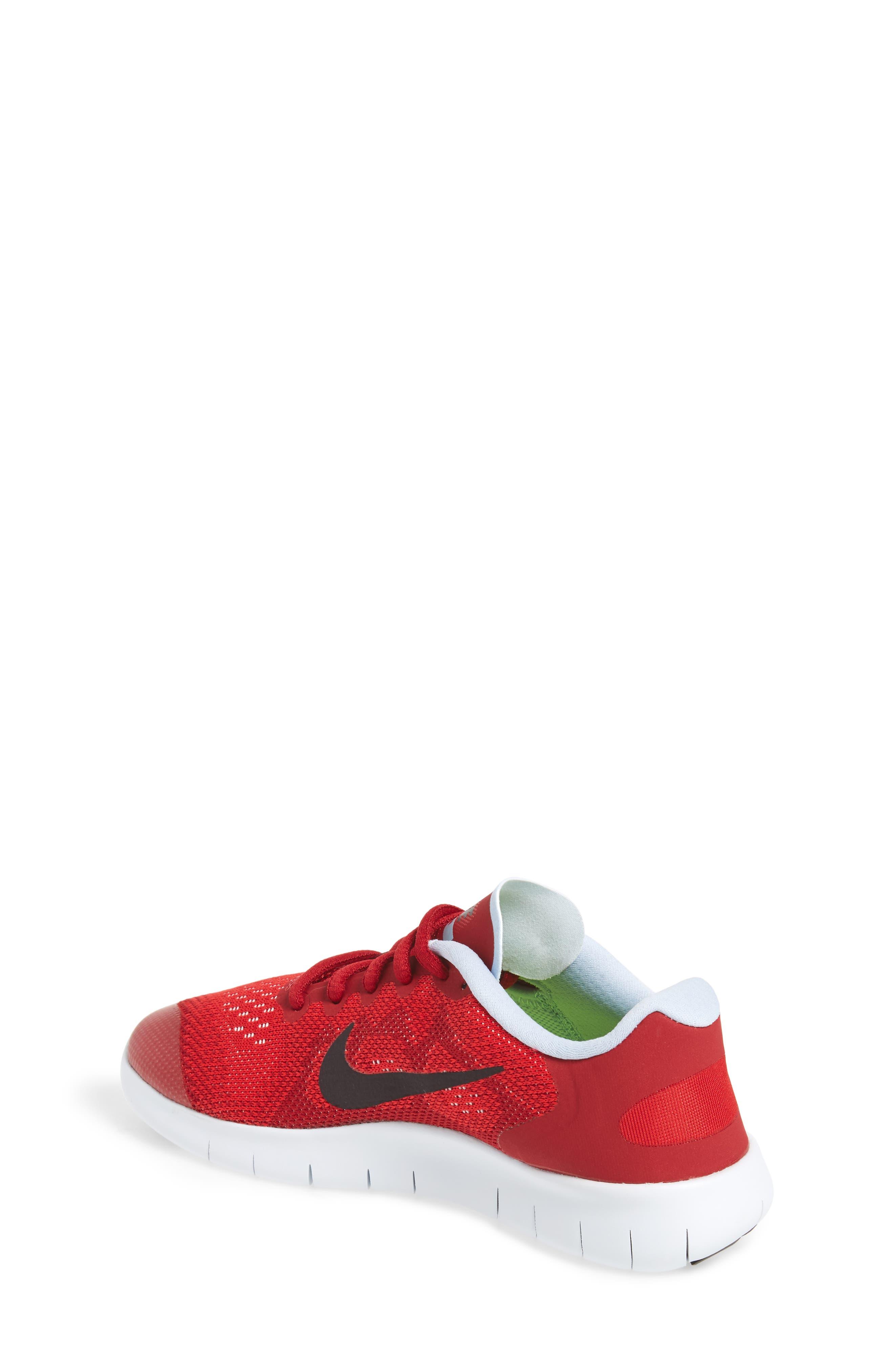 Alternate Image 2  - Nike Free RN Running Shoe (Toddler, Little Kid & Big Kid)