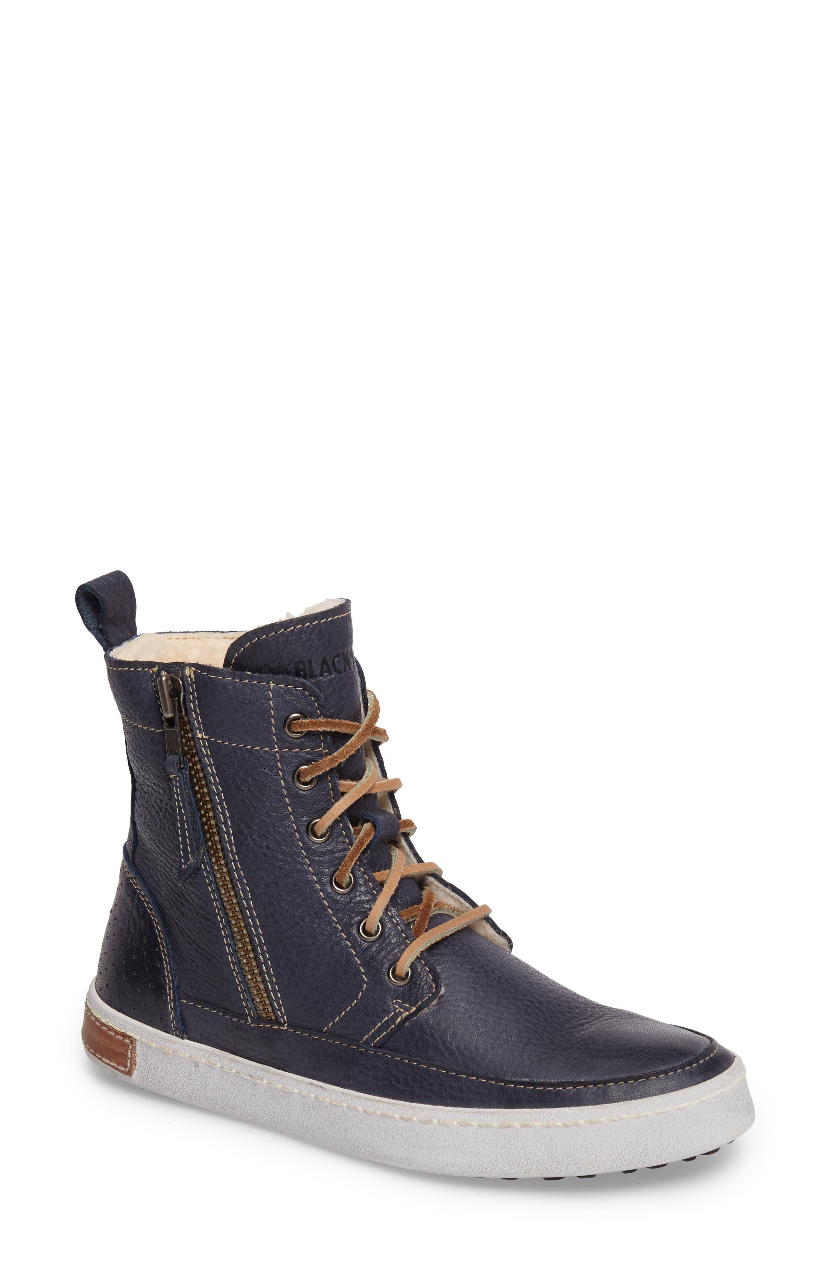 Alternate Image 1 Selected - Blackstone 'CW96' Genuine Shearling Lined Sneaker Boot (Women)