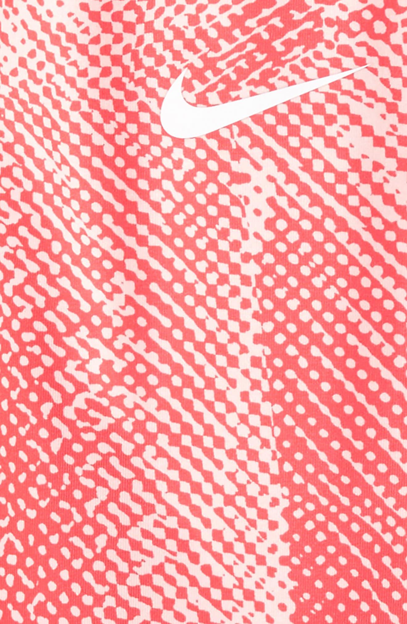 Dri-FIT Leggings,                             Alternate thumbnail 2, color,                             Fusion Red
