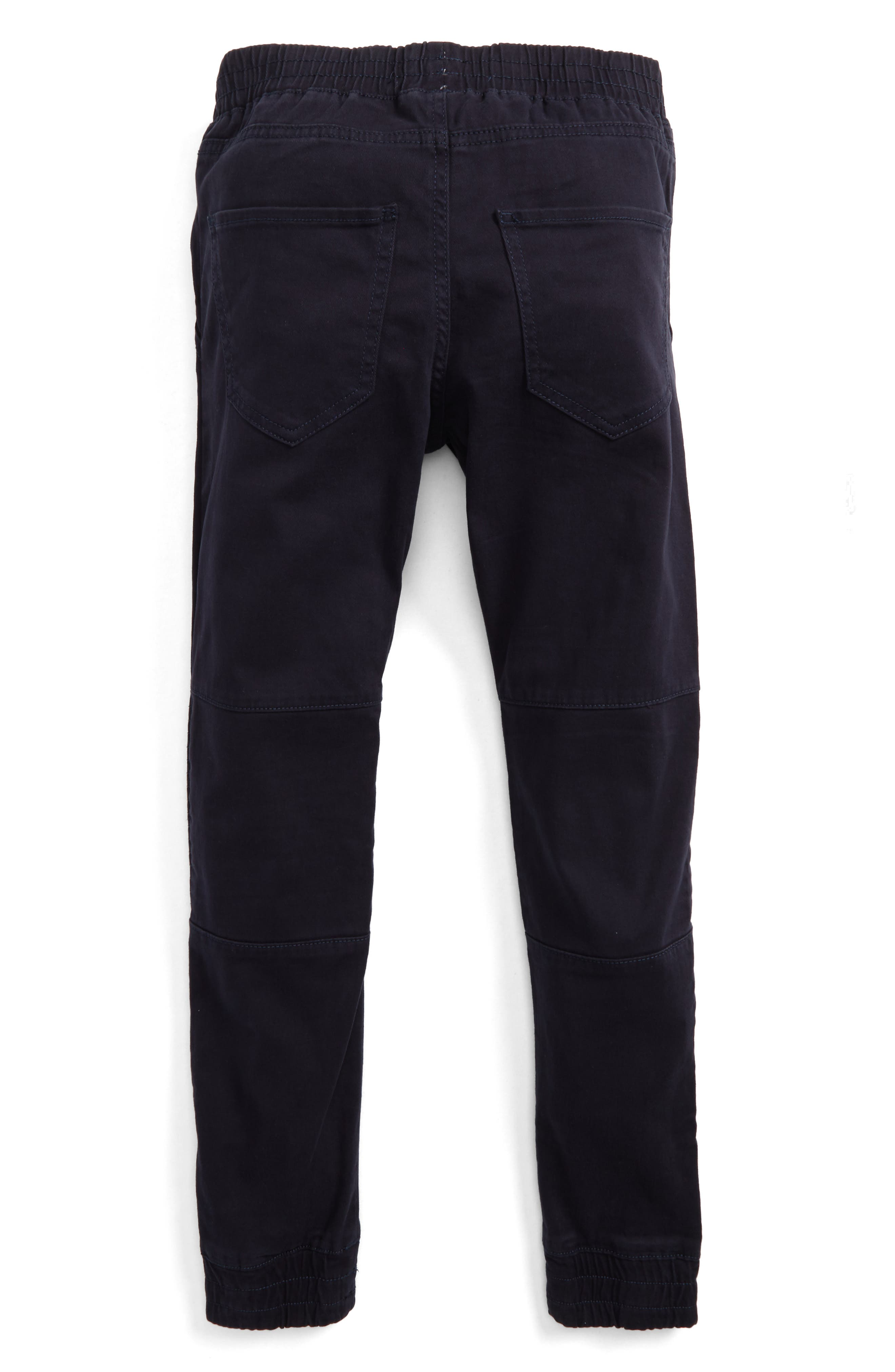 Moto Jogger Pants,                             Alternate thumbnail 2, color,                             Navy Night