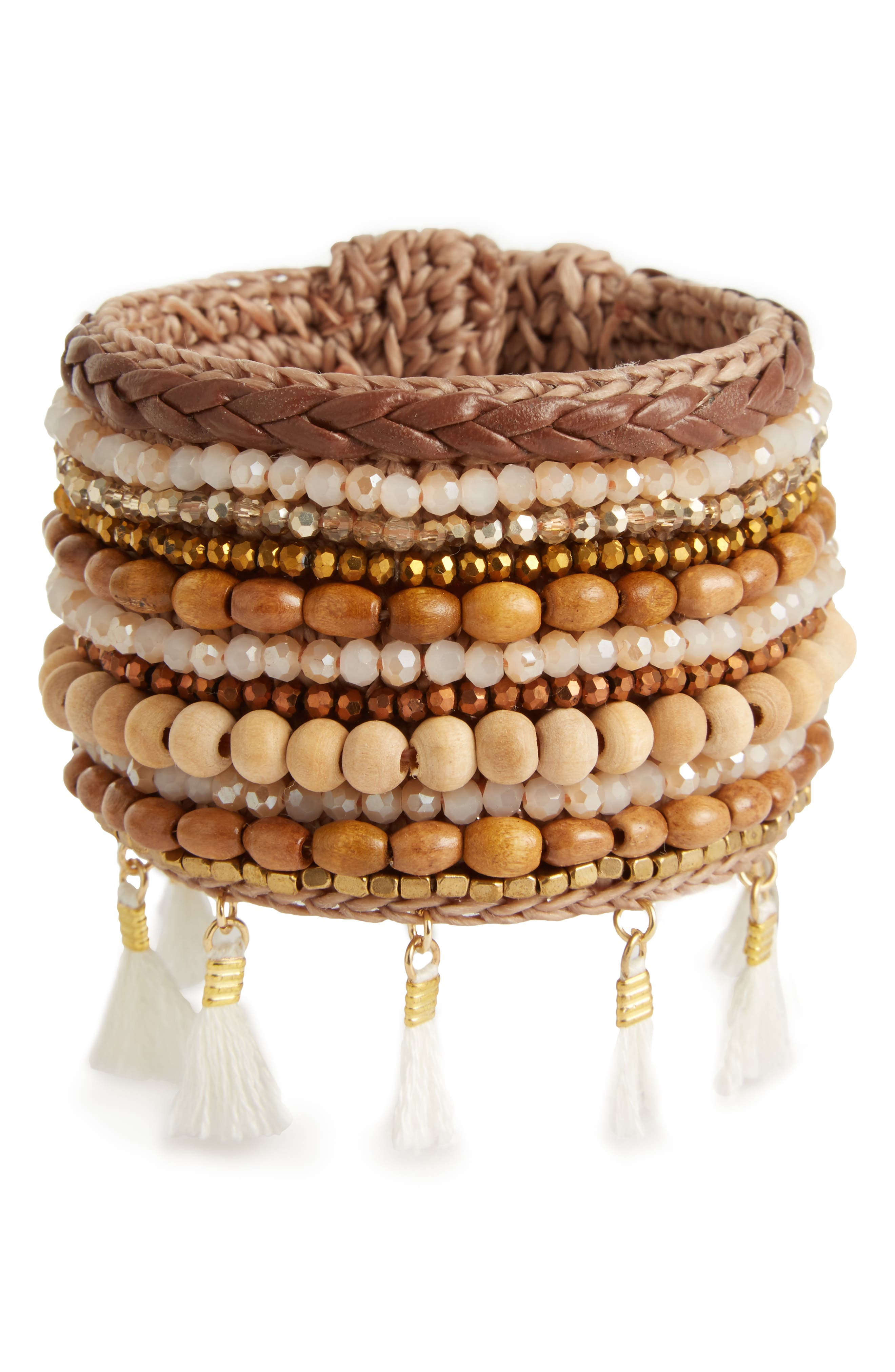 Main Image - Panacea Wide Bracelet