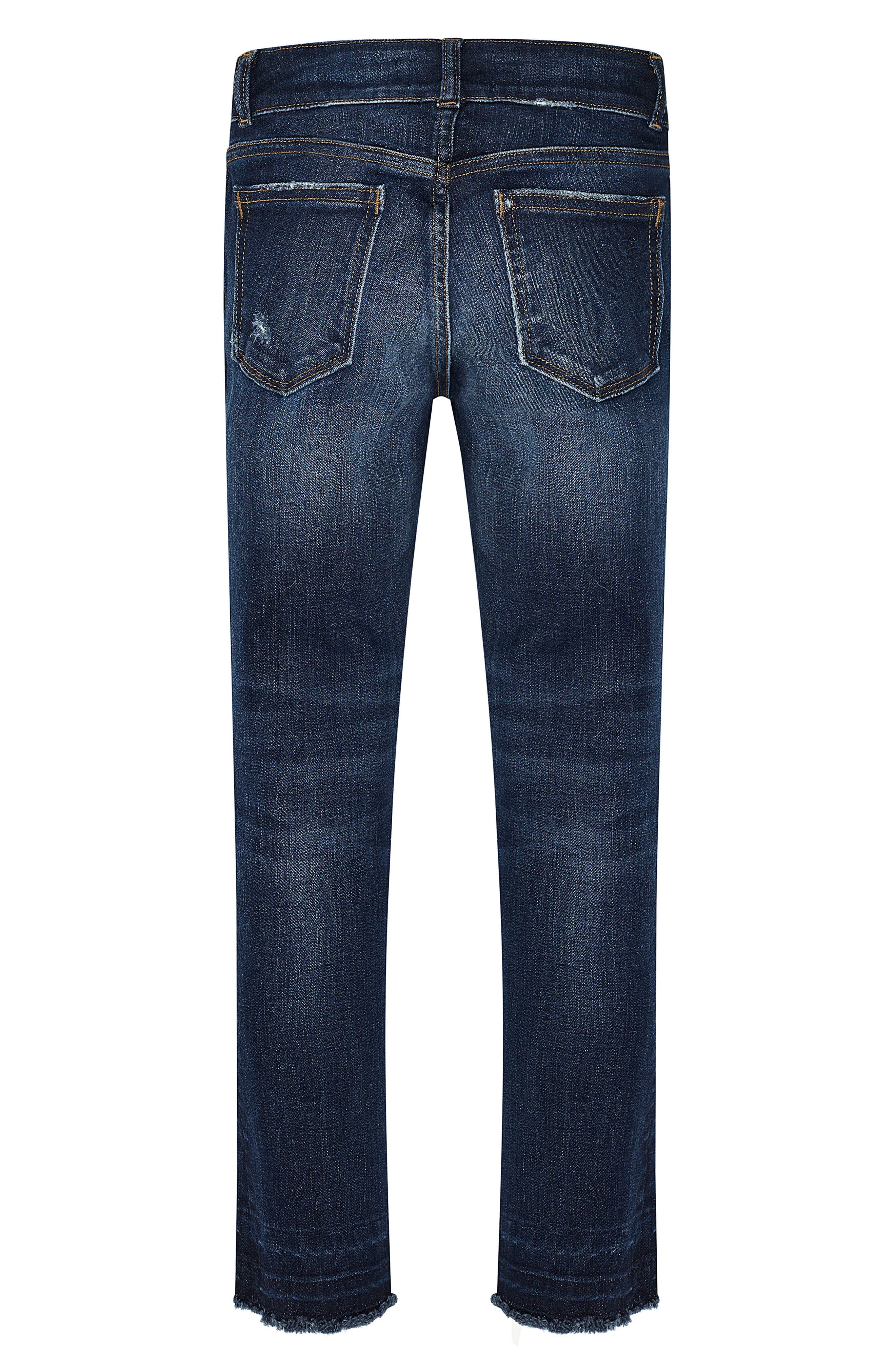 Chloe Distressed Skinny Jeans,                             Alternate thumbnail 2, color,                             Caruso