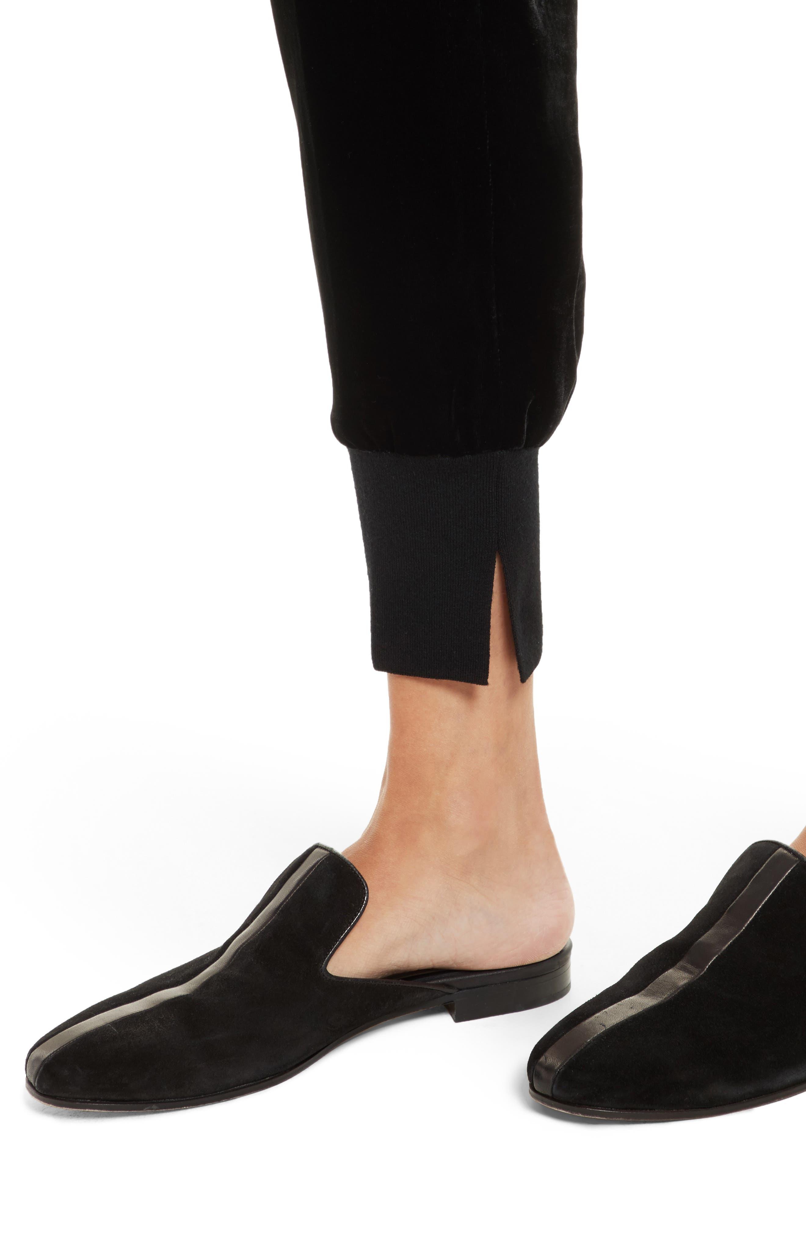 Alternate Image 4  - 3.1 Phillip Lim Velvet Jogger Pants