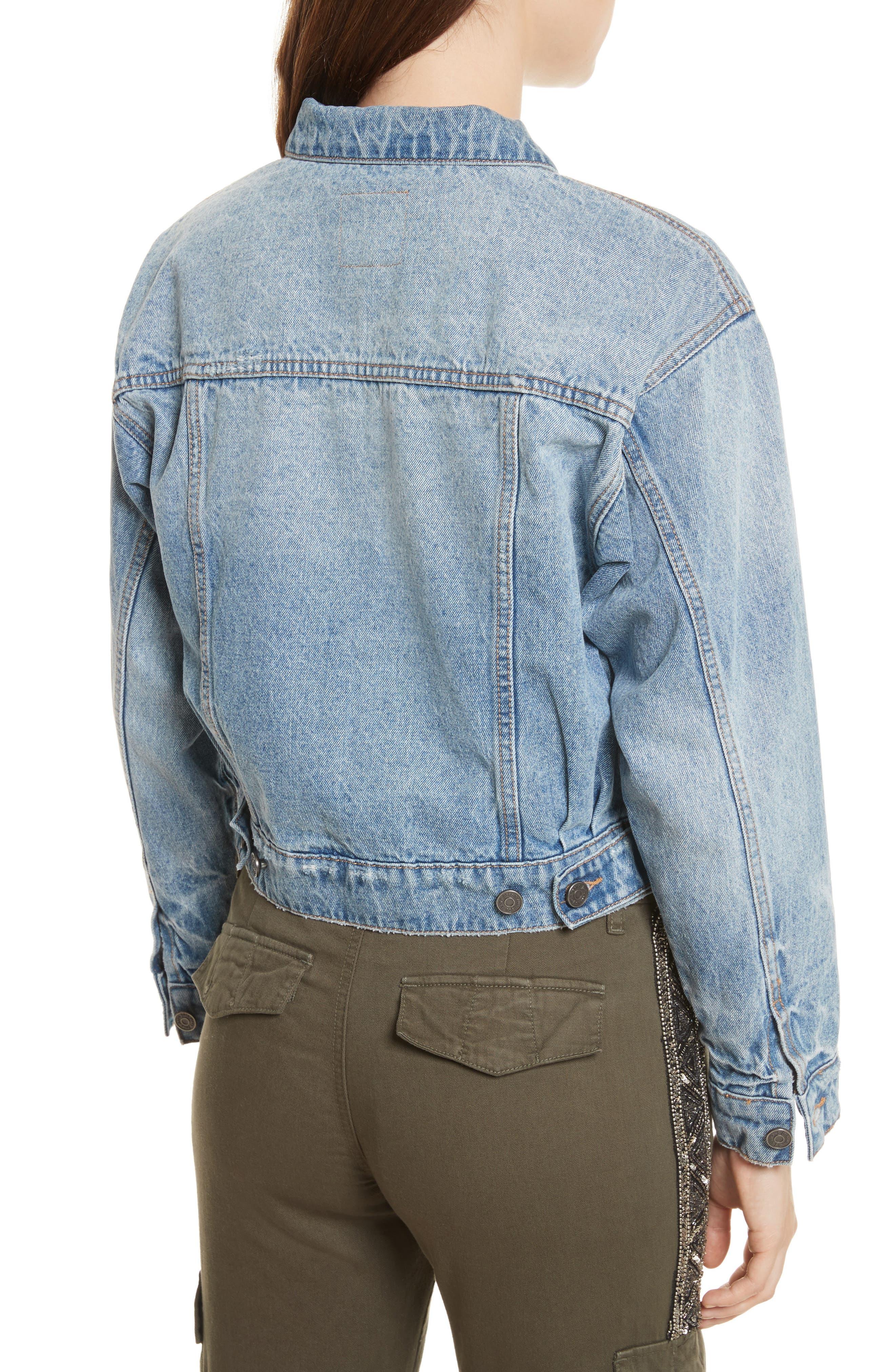 Alternate Image 2  - Joie Redmondia Denim Jacket (Azzurro)