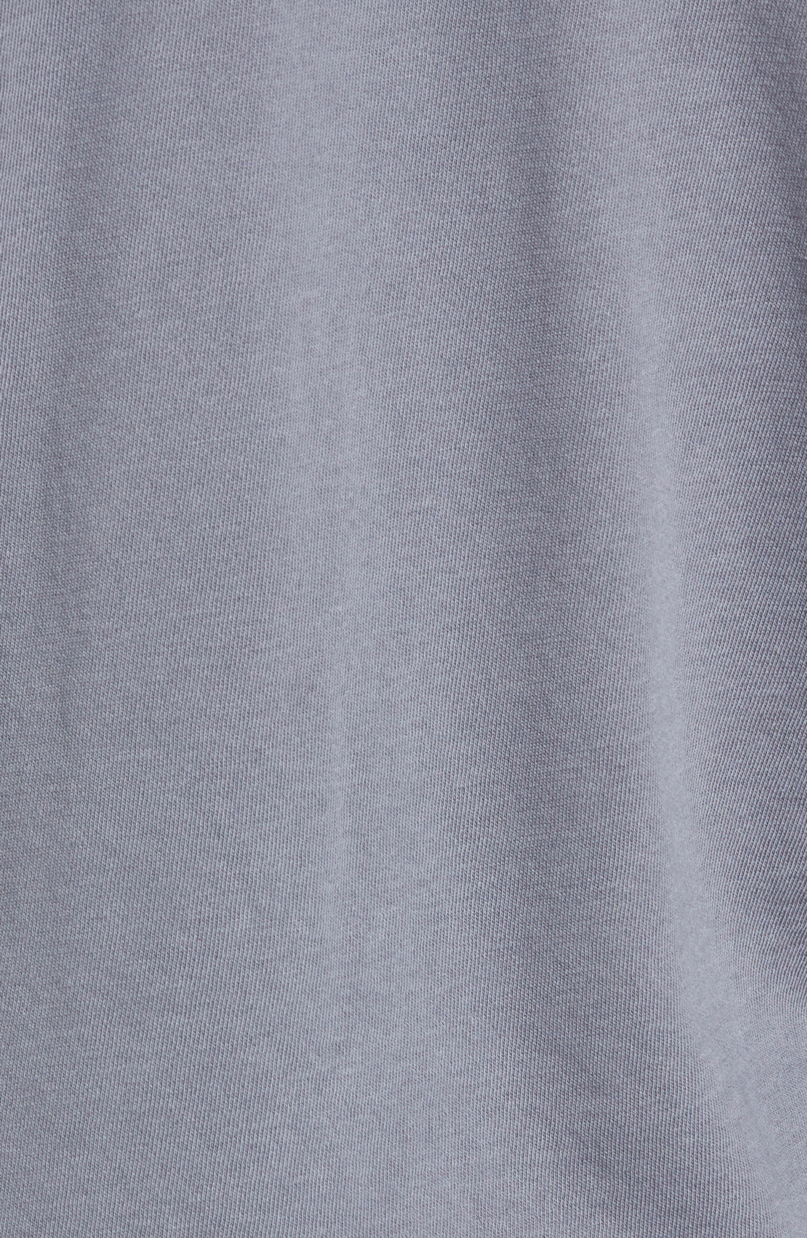 Alternate Image 6  - James Perse Raglan Crewneck Sweatshirt