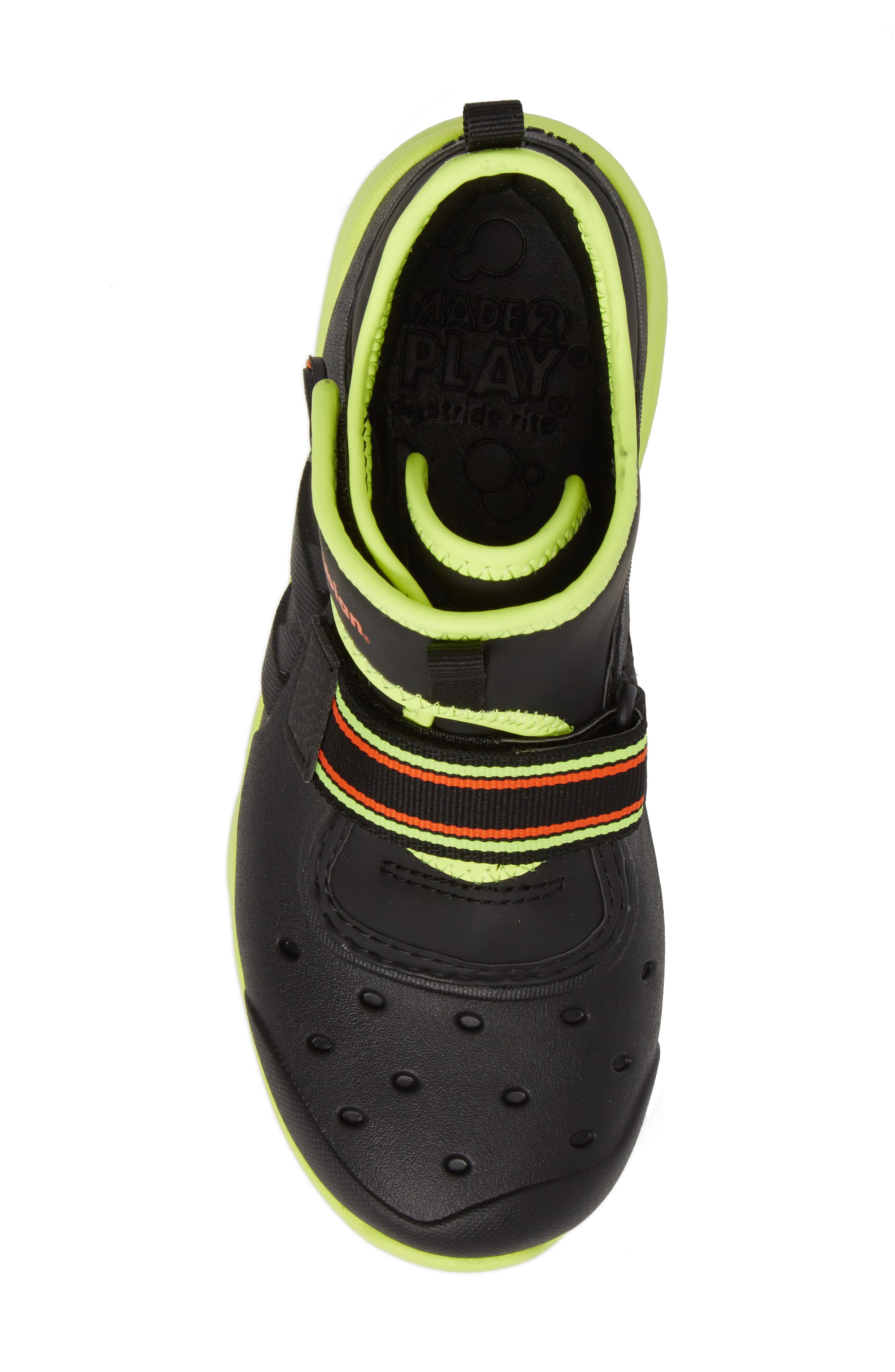 Alternate Image 5  - Stride Rite Made2Play® Phibian Mid Top Sneaker (Baby, Walker & Toddler)