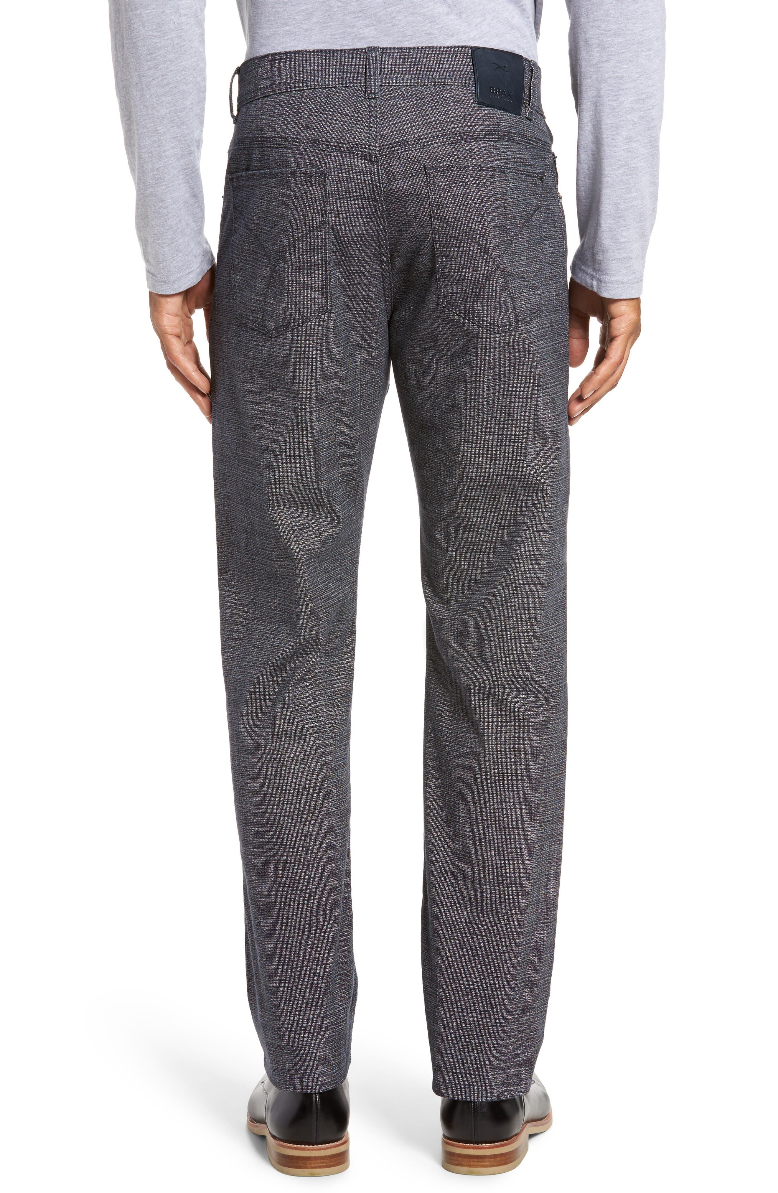 Alternate Image 2  - Brax Cotton Blend Five-Pocket Trousers