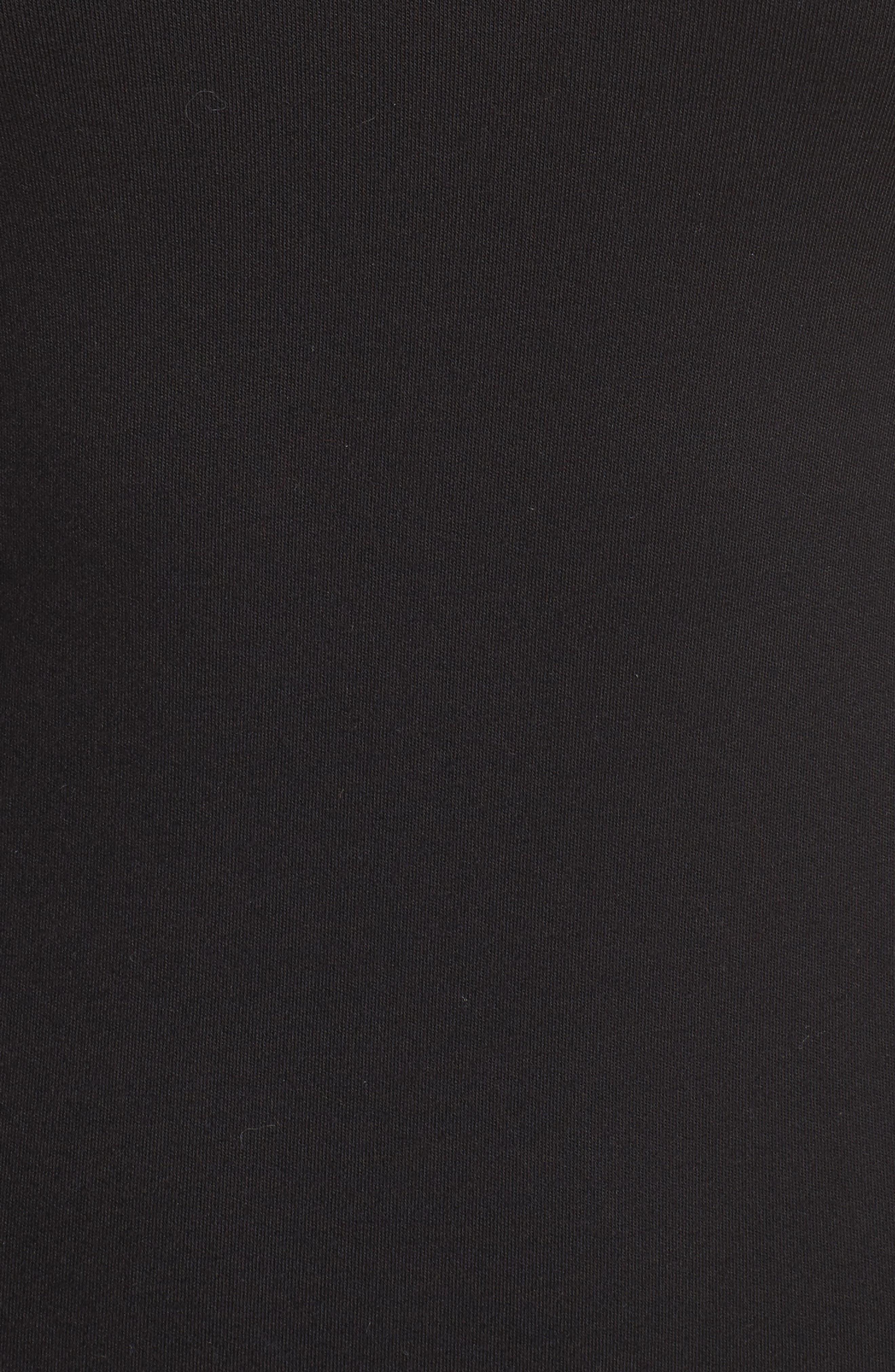 Choker Body-Con Dress,                             Alternate thumbnail 5, color,                             Black