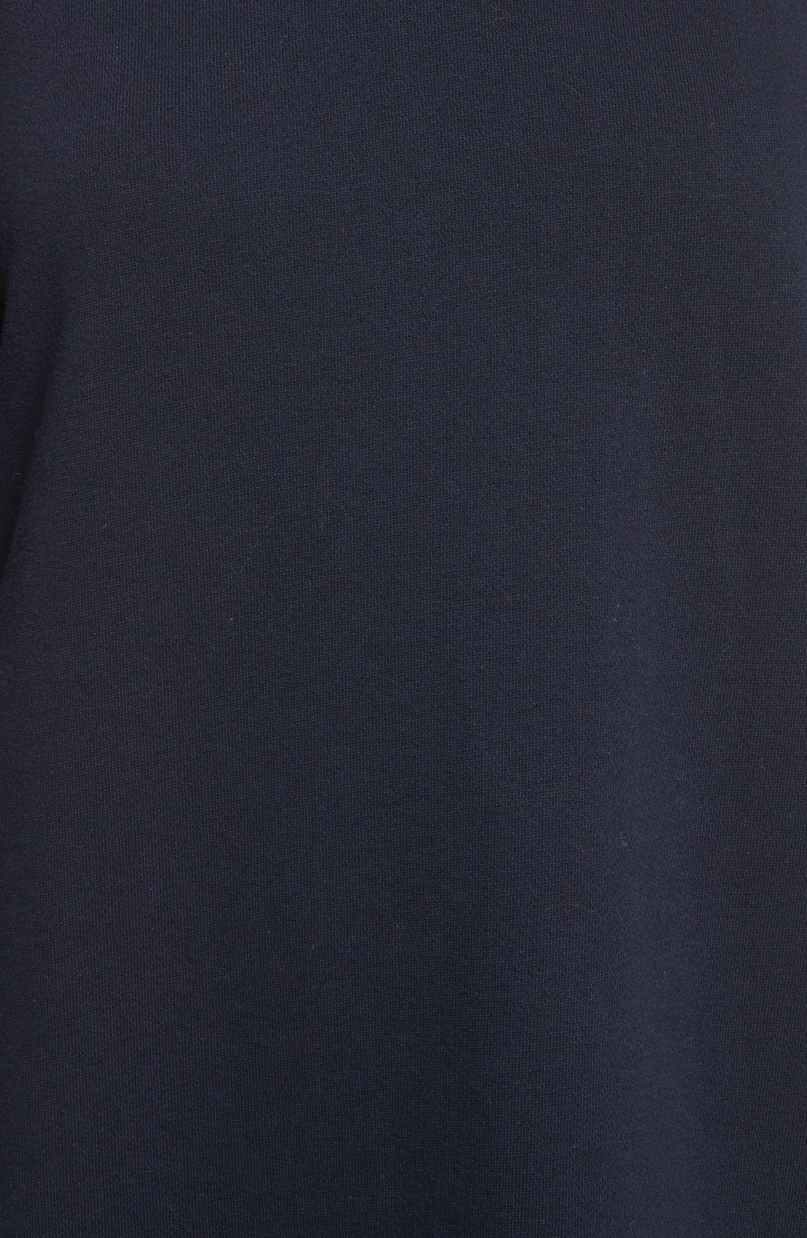 Alternate Image 5  - La Vie Rebecca Taylor Long Sleeve Fleece Dress