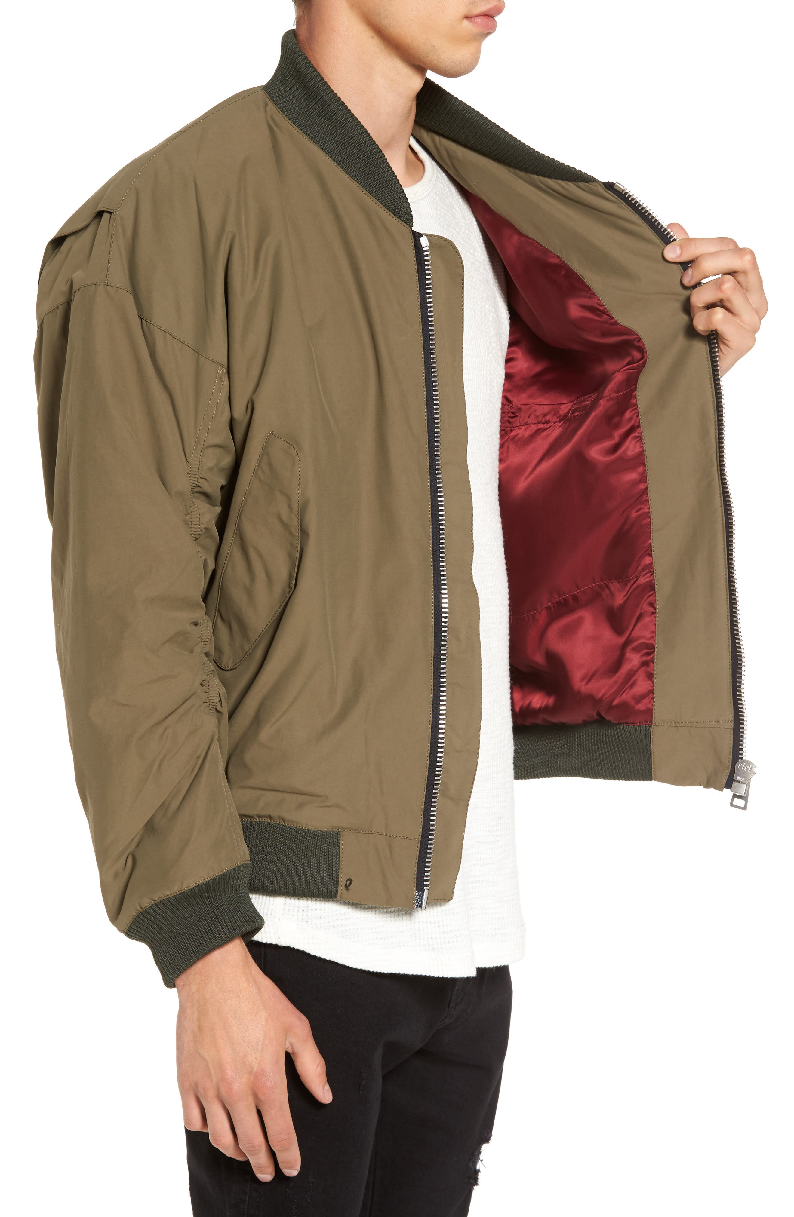 Alternate Image 3  - Represent Classic Bomber Jacket