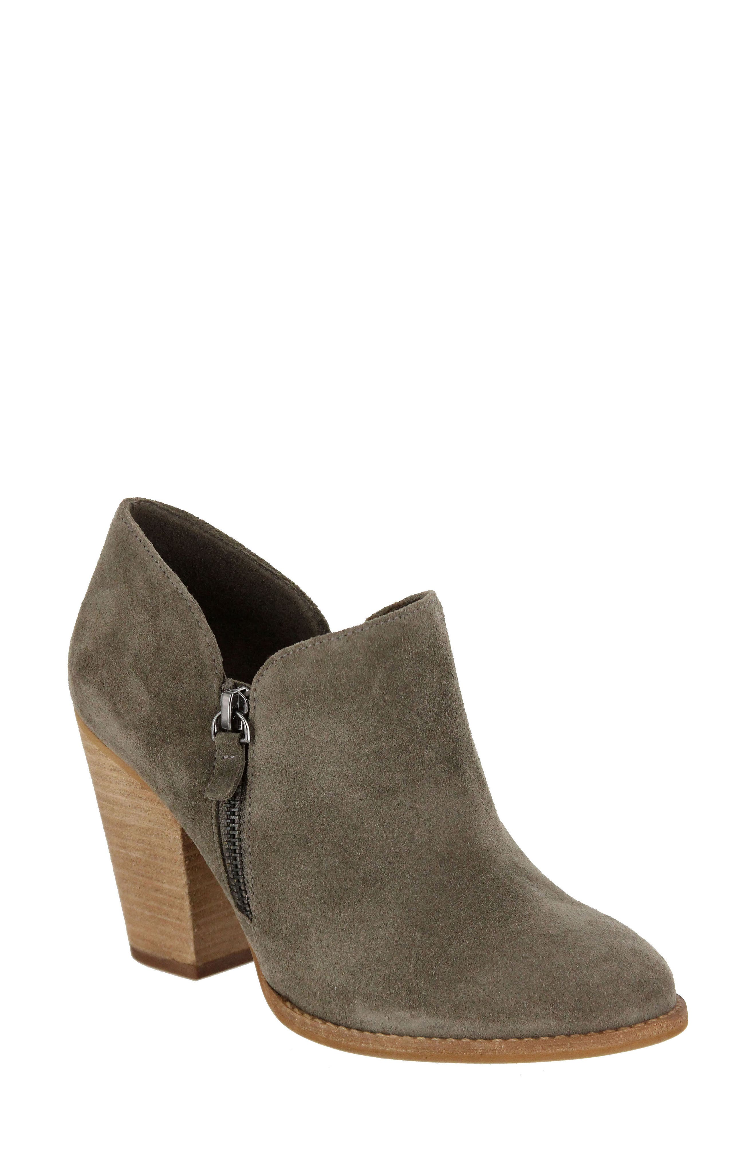 Frisco Bootie,                         Main,                         color, Taupe