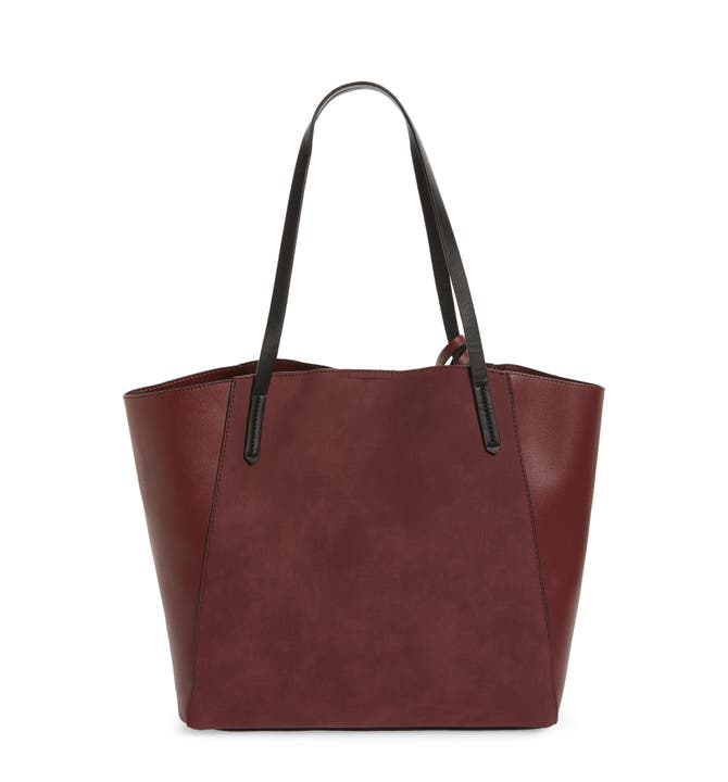 BP. Colorblock Faux Leather Tote   Nordstrom