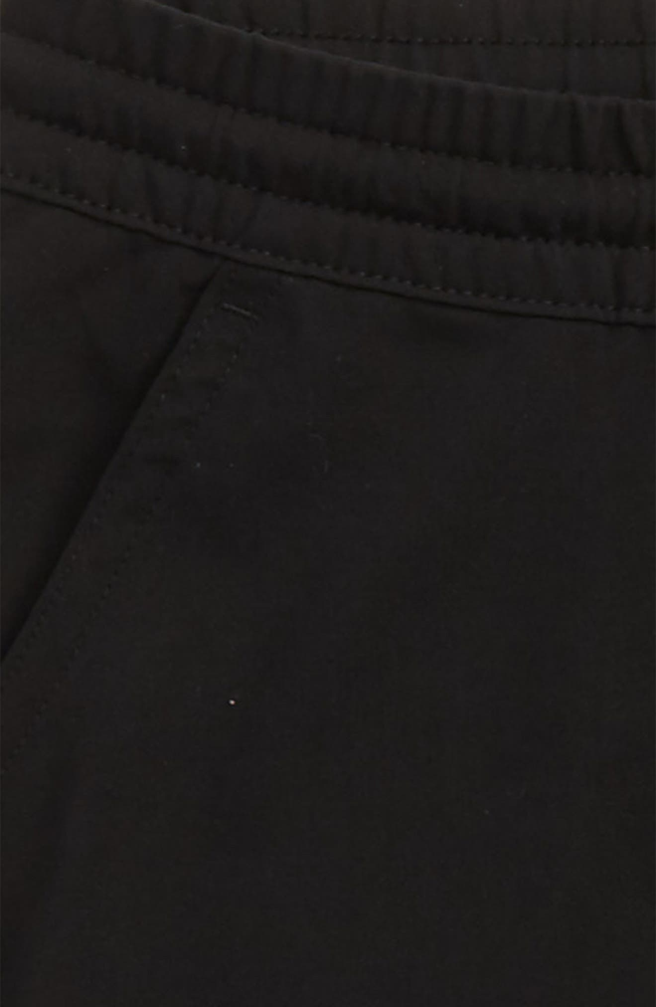Elliot Woven Jogger Pants,                             Alternate thumbnail 2, color,                             Black