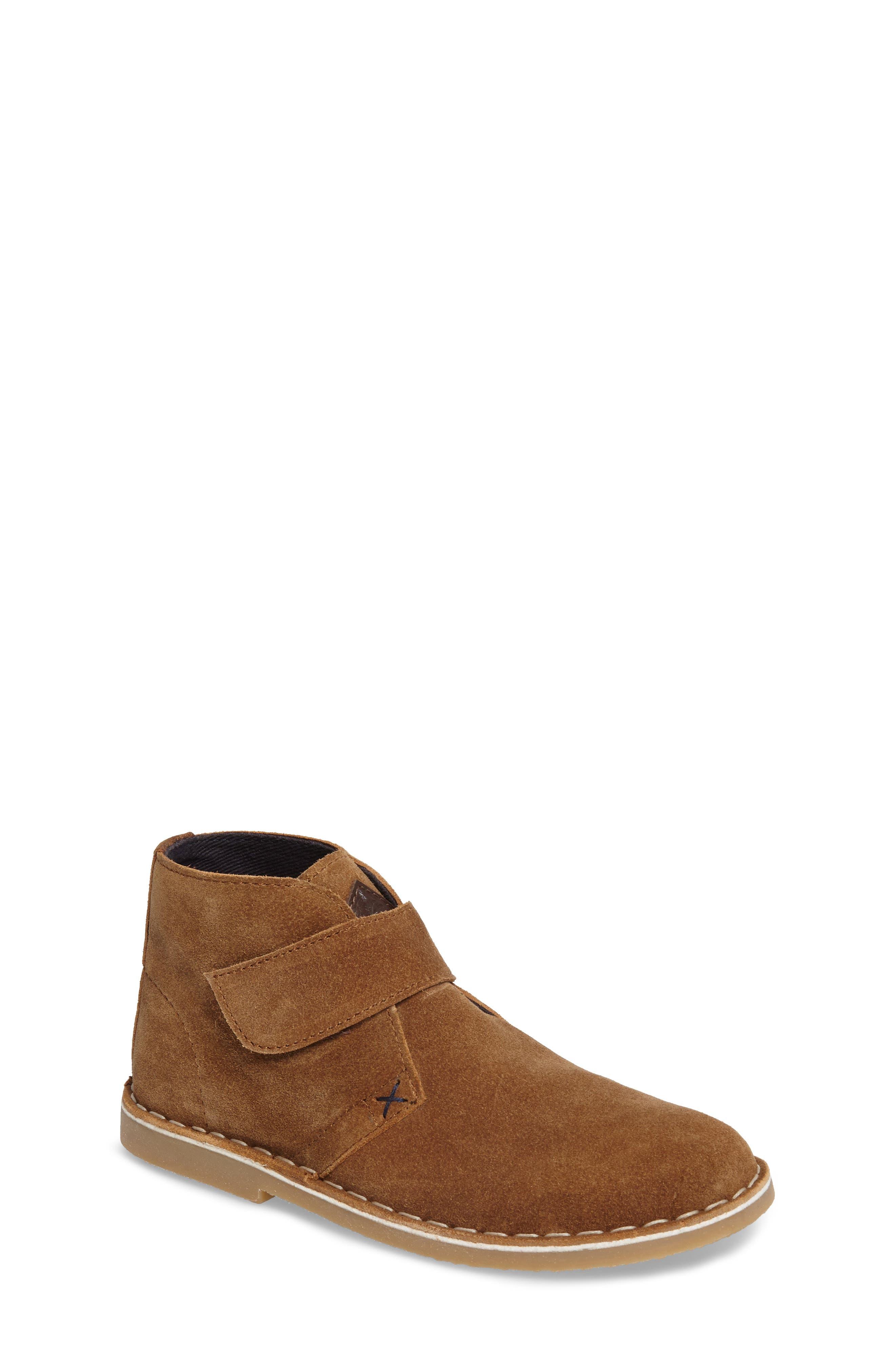 Barkby Front Strap Chukka Boot,                             Main thumbnail 1, color,                             Sand