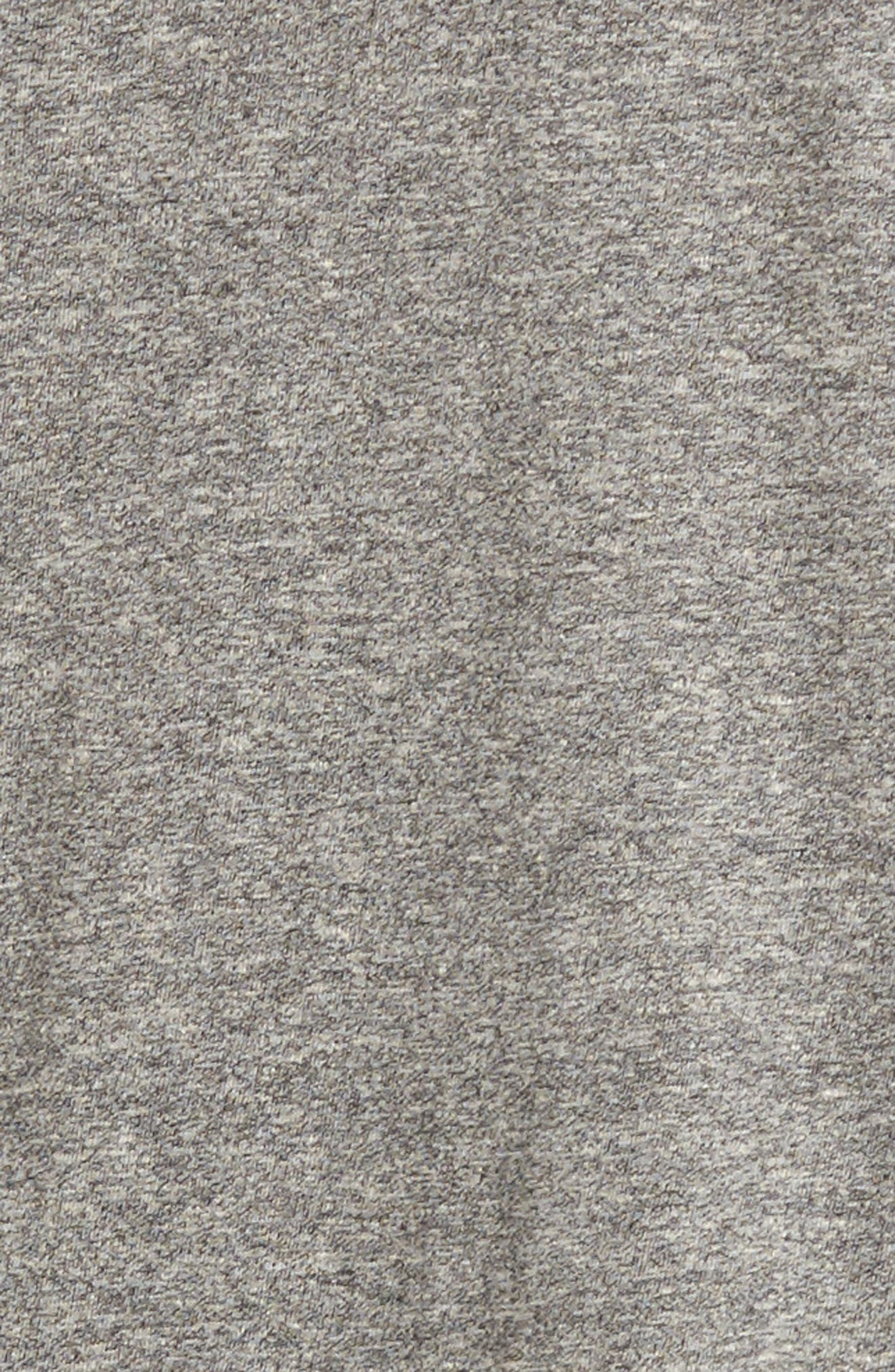'The V-Neck' Tee,                             Alternate thumbnail 5, color,                             Heather Grey